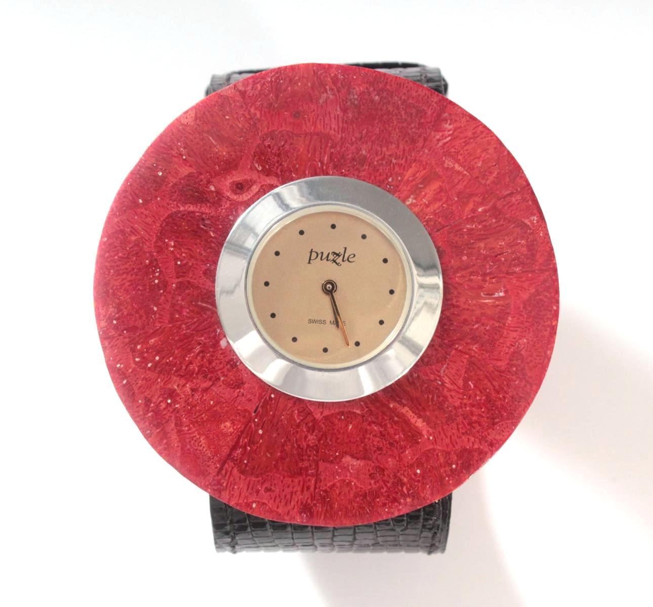 Damenarmbanduhr der Marke Puzle-2