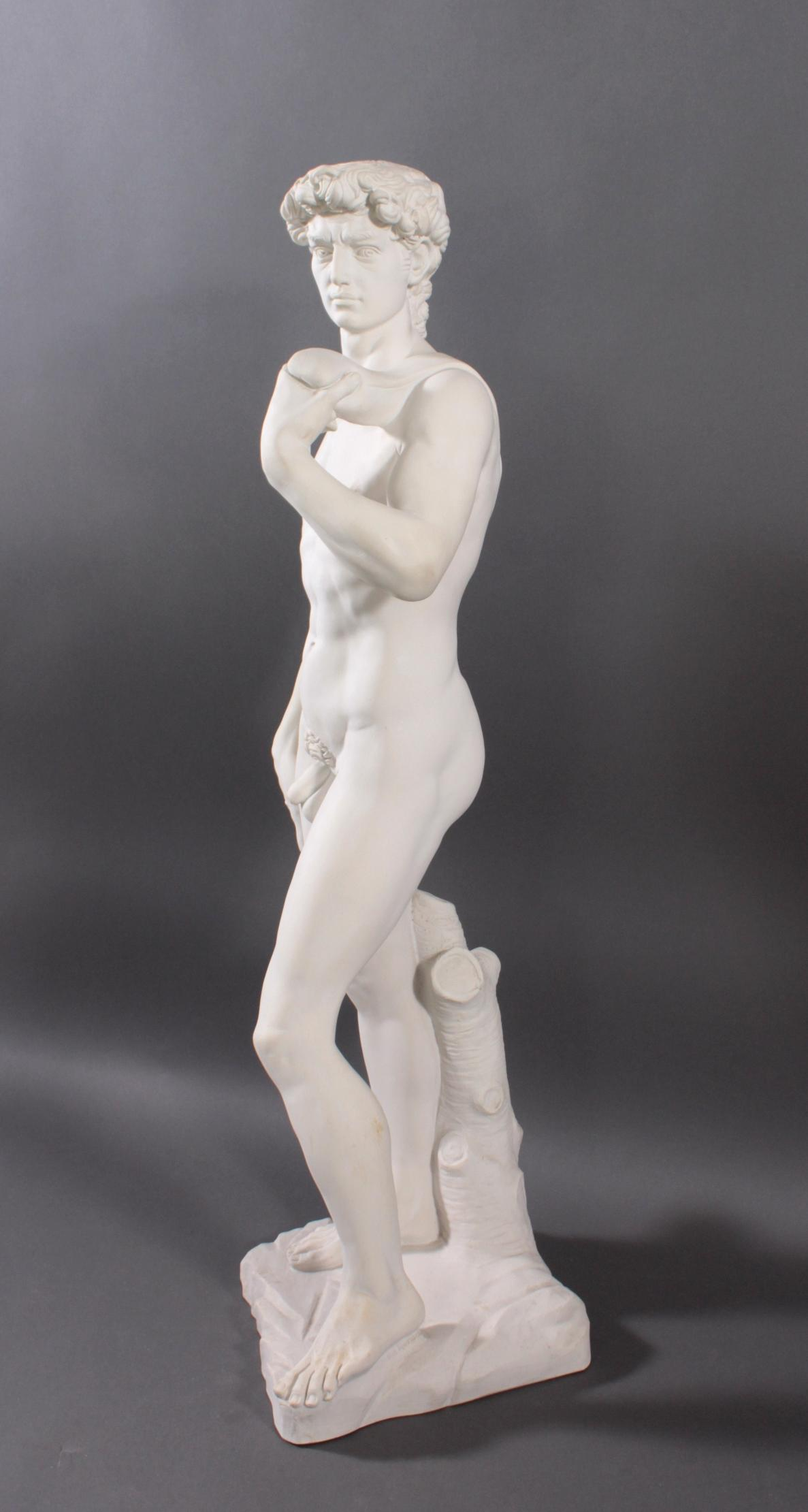 Kunstmarmor-Skulptur, 'David'-3