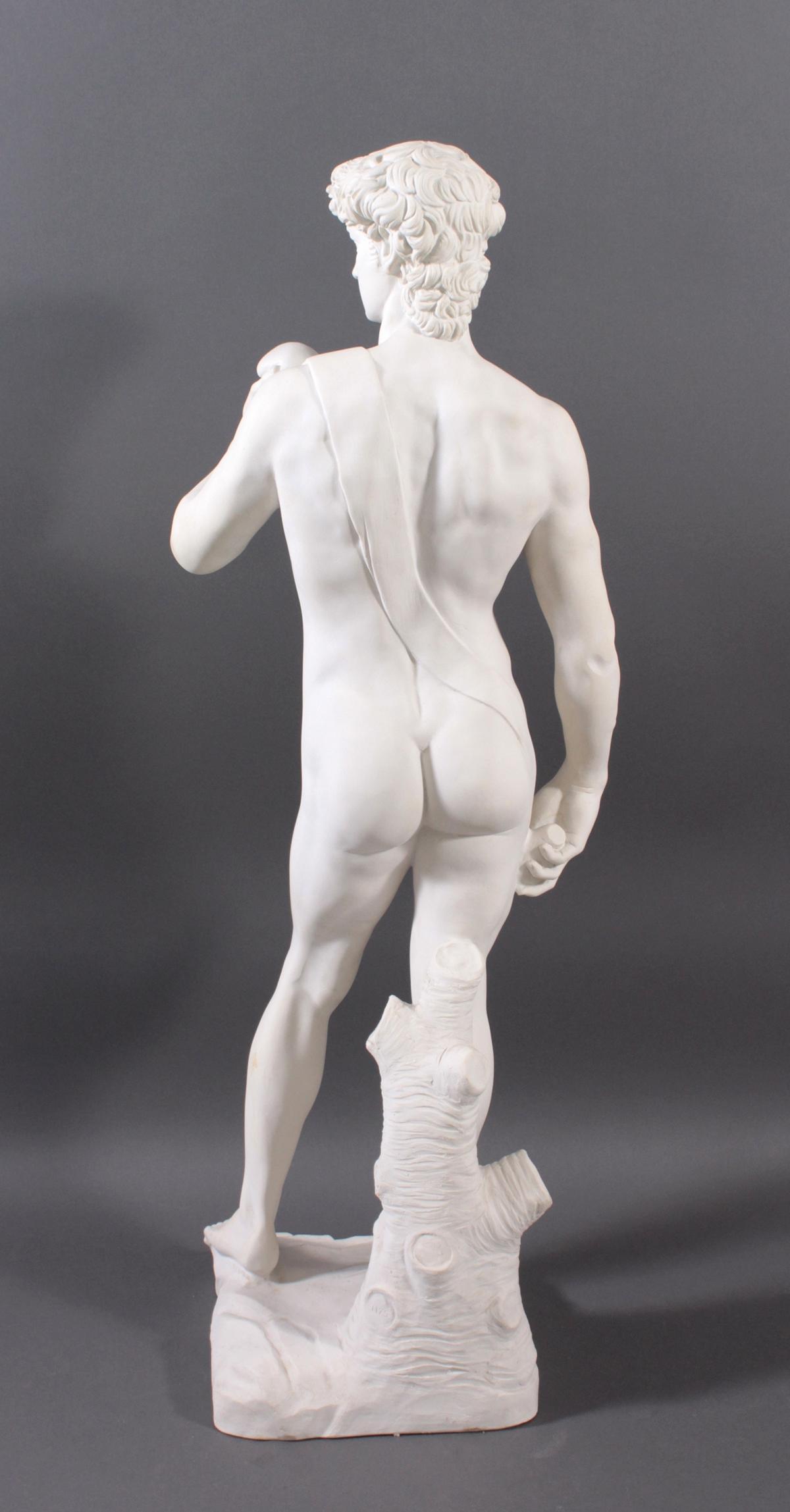 Kunstmarmor-Skulptur, 'David'-5