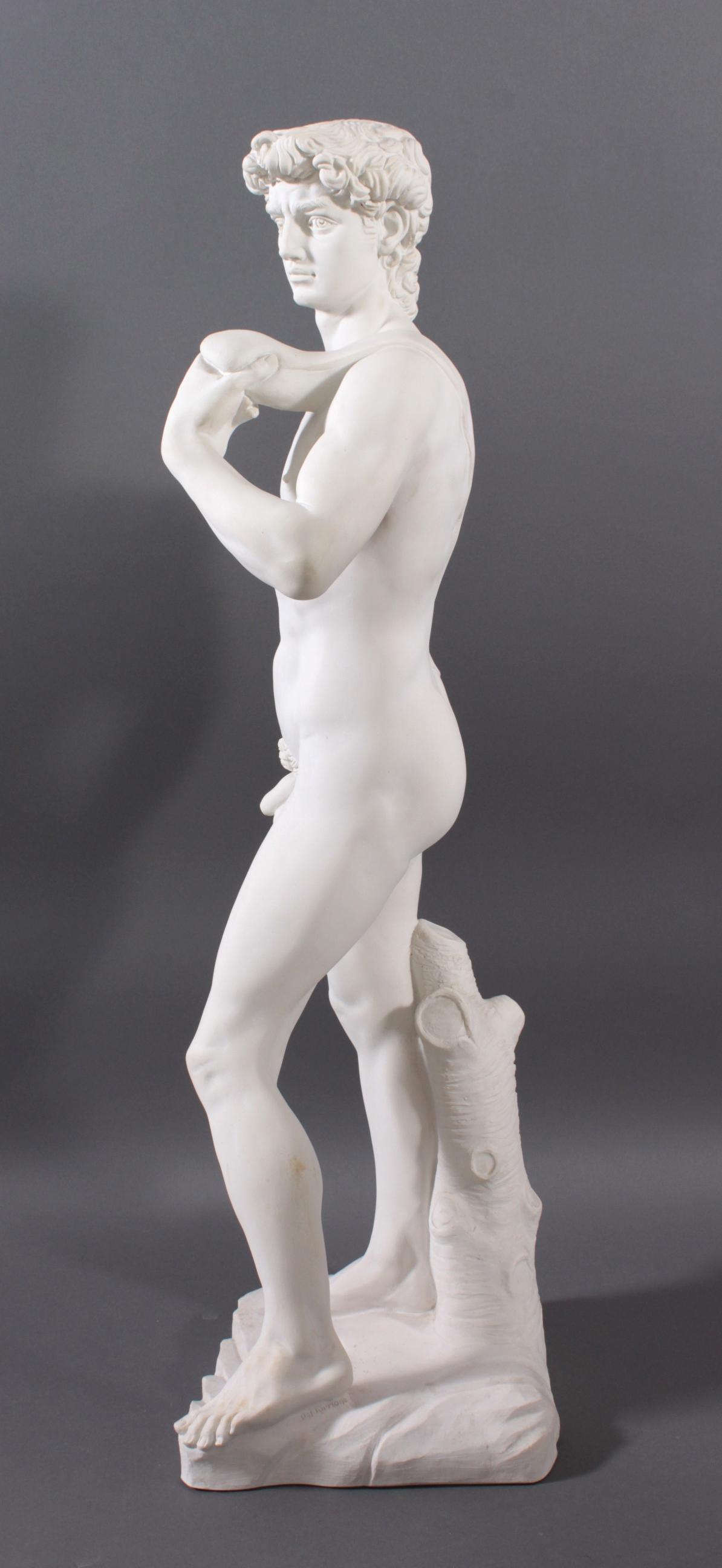 Kunstmarmor-Skulptur, 'David'-6