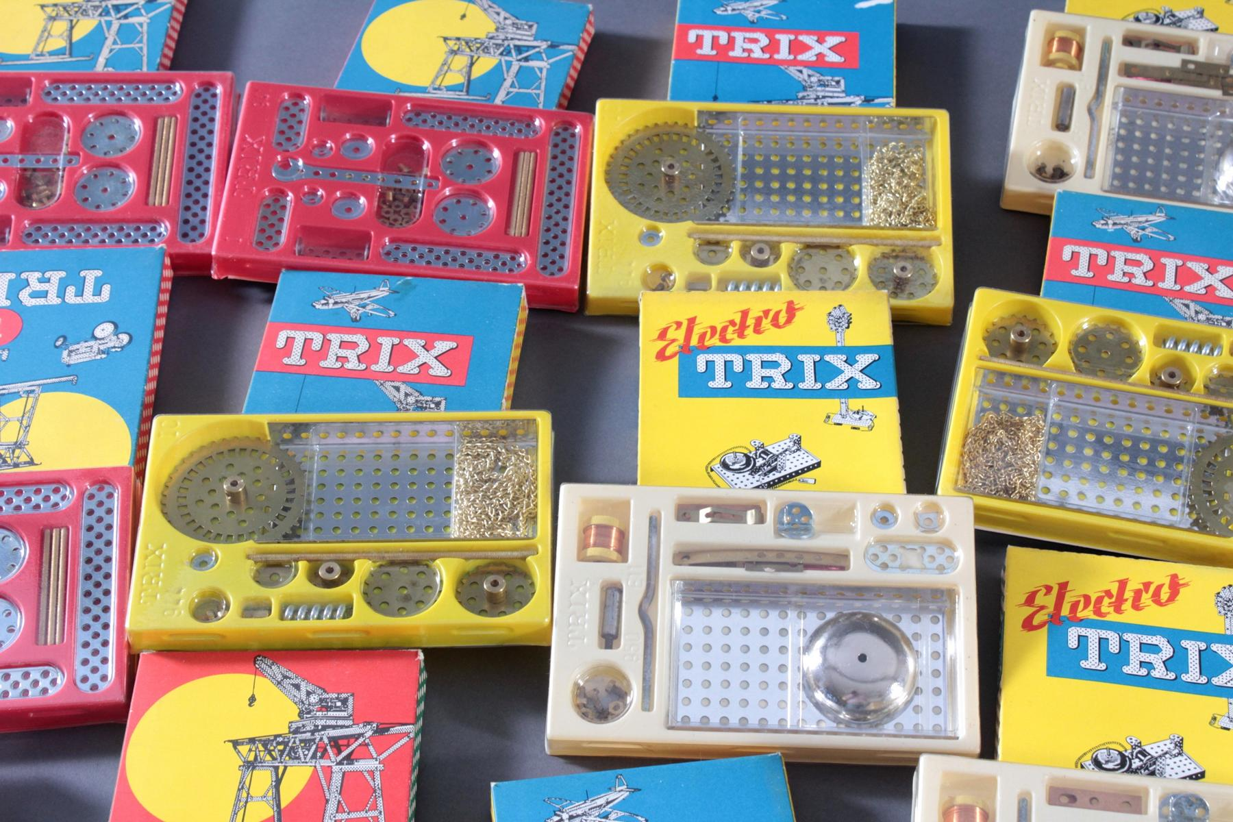TRIX Metallbaukästen, 1, 1b, 1c, 1d und 11 (Elektro)-2