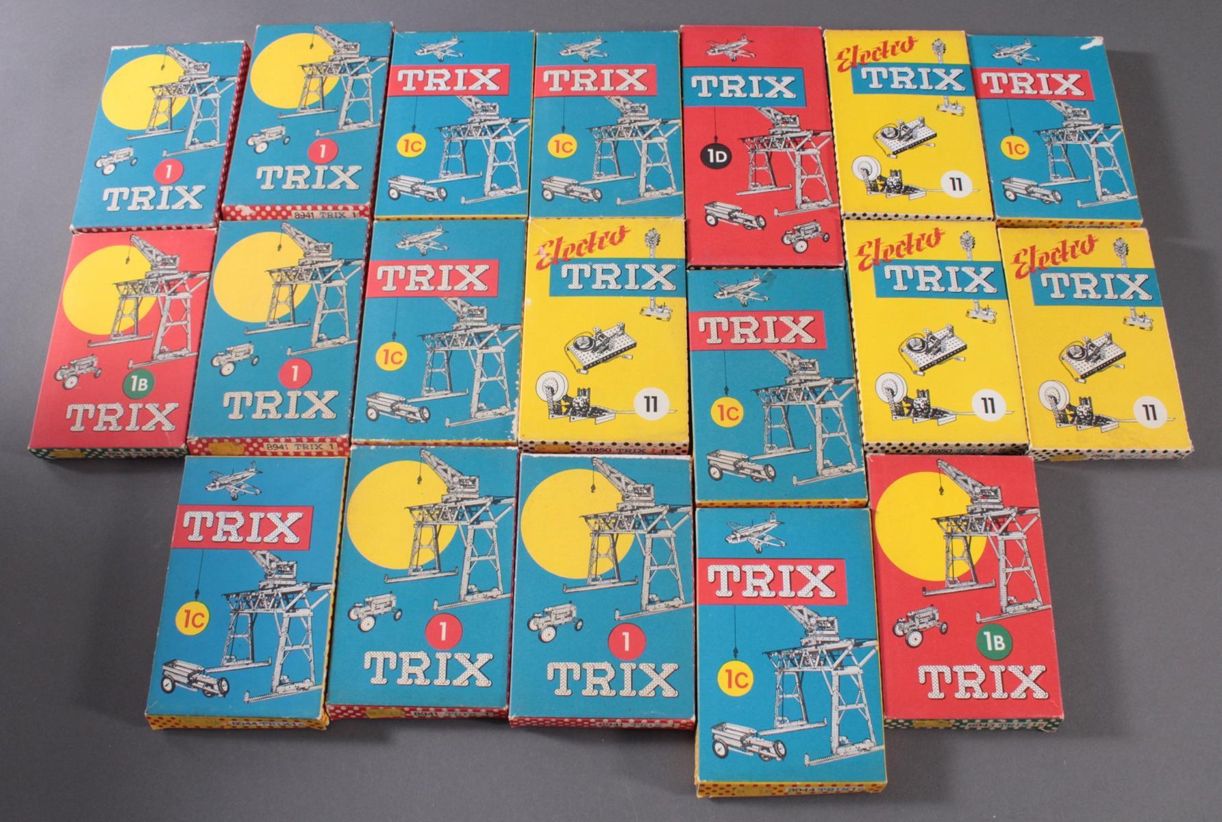 TRIX Metallbaukästen, 1, 1b, 1c, 1d und 11 (Elektro)-6