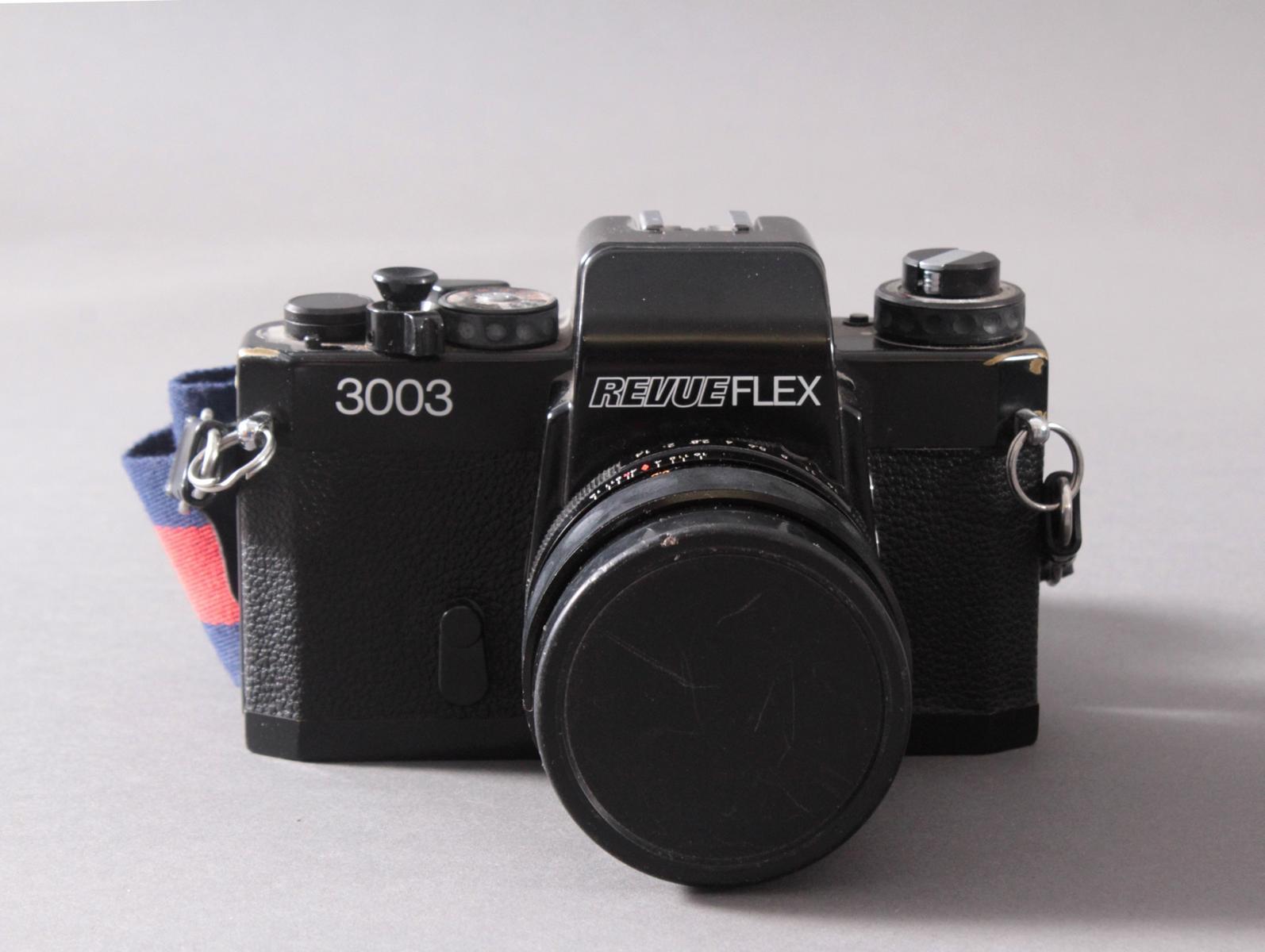 Revueflex 3003 mit Zubehör und Fototasche-2