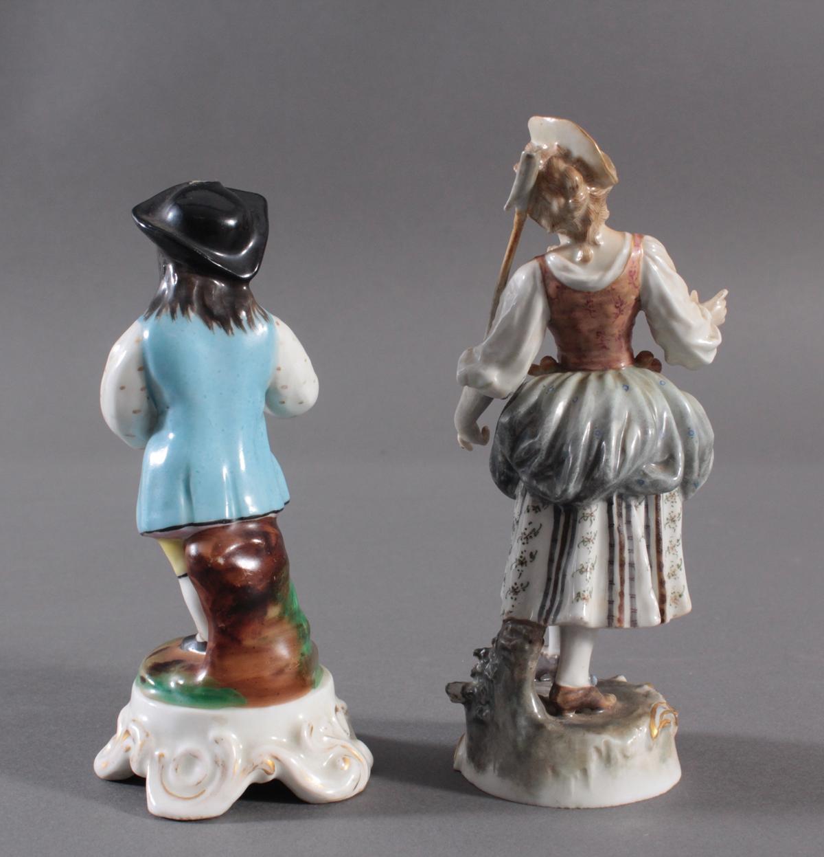Zwei Porzellanfiguren-2