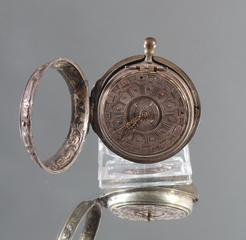 Spindeluhr, Roget London, um 1750-2