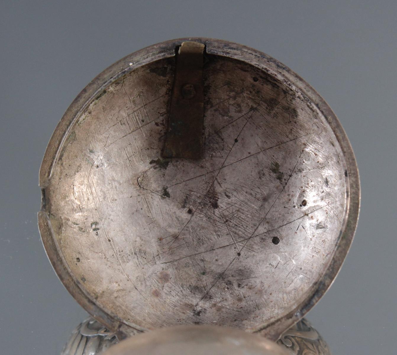 Spindeluhr, Roget London, um 1750-6