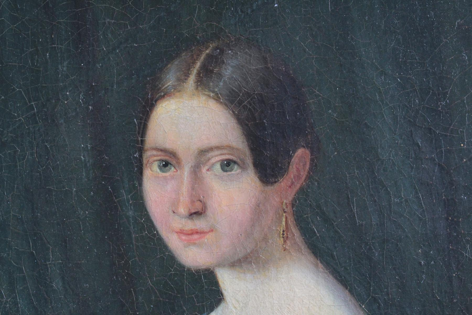 Frauenbildnis des 19. Jahrhunderts-3