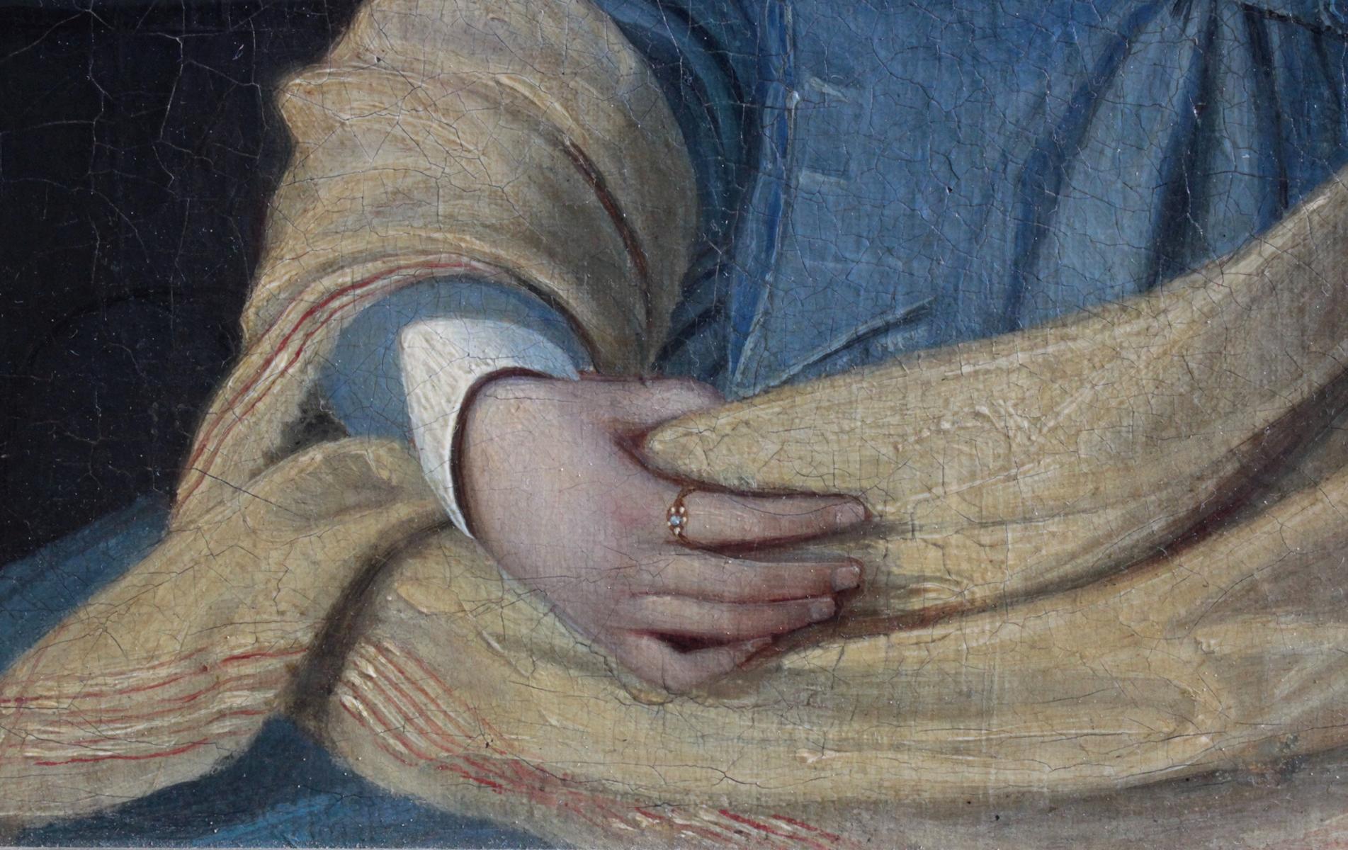 Frauenbildnis des 19. Jahrhunderts-4