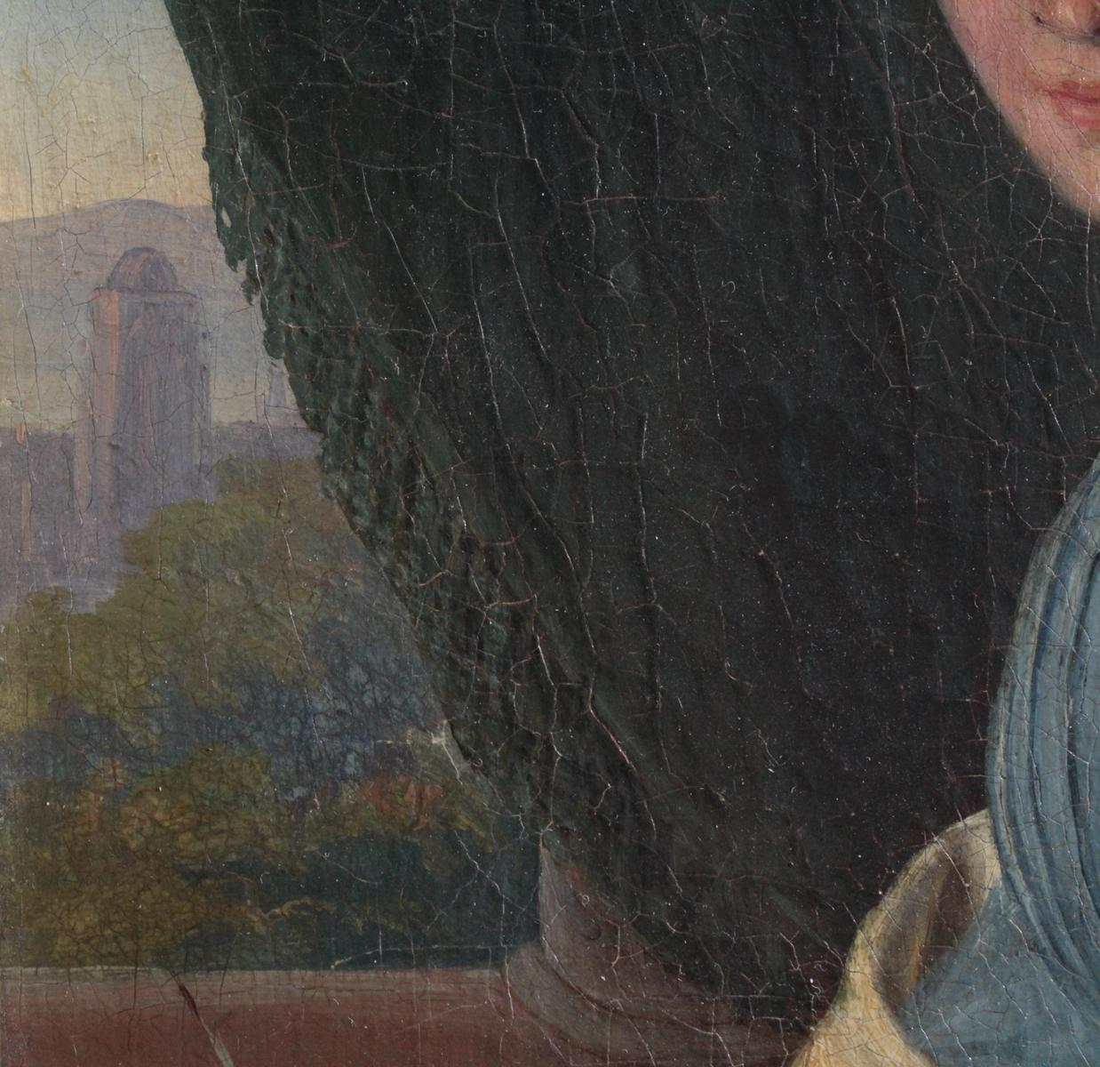 Frauenbildnis des 19. Jahrhunderts-5