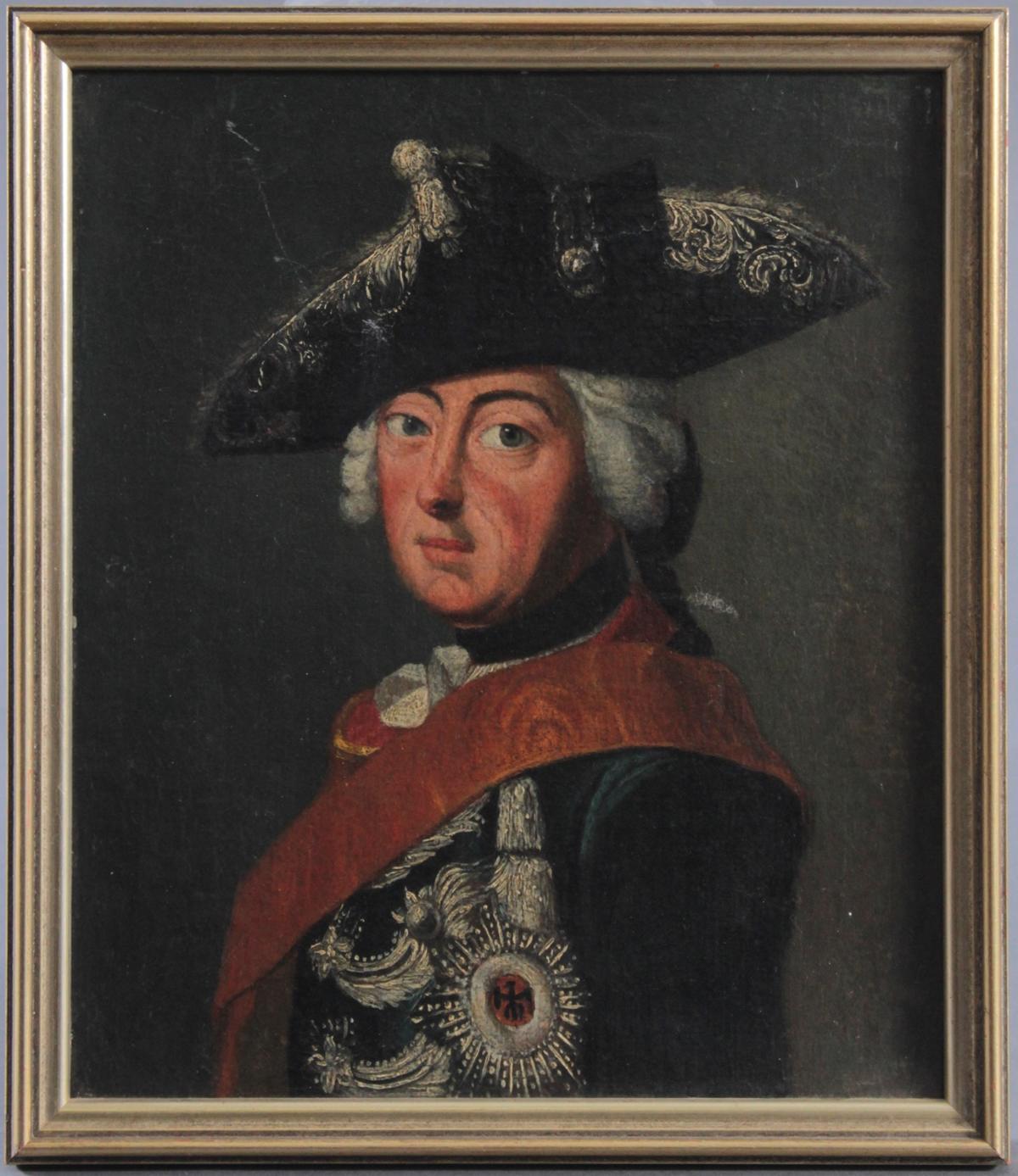 Maler des 18. Jahrhunderts, 'Friedrich der Große
