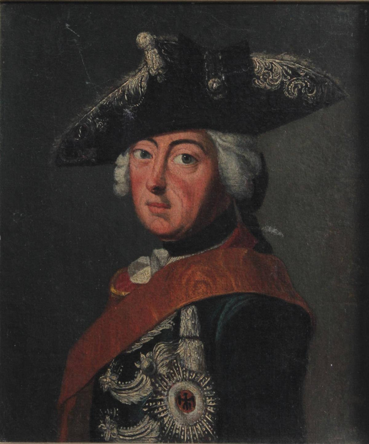 Maler des 18. Jahrhunderts, 'Friedrich der Große-2
