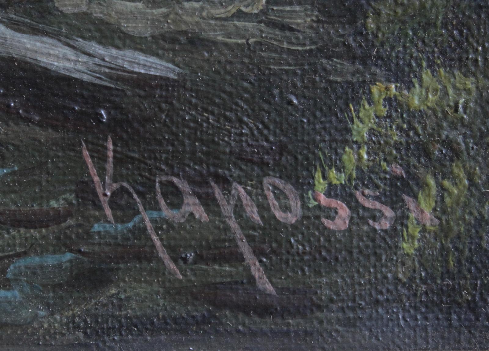 Kapossi ?-?, 2 Landschaftsgemälde-4