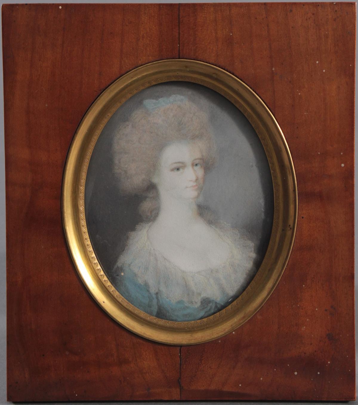 J. Smart. Miniaturmalerei, 18. Jahrhundert
