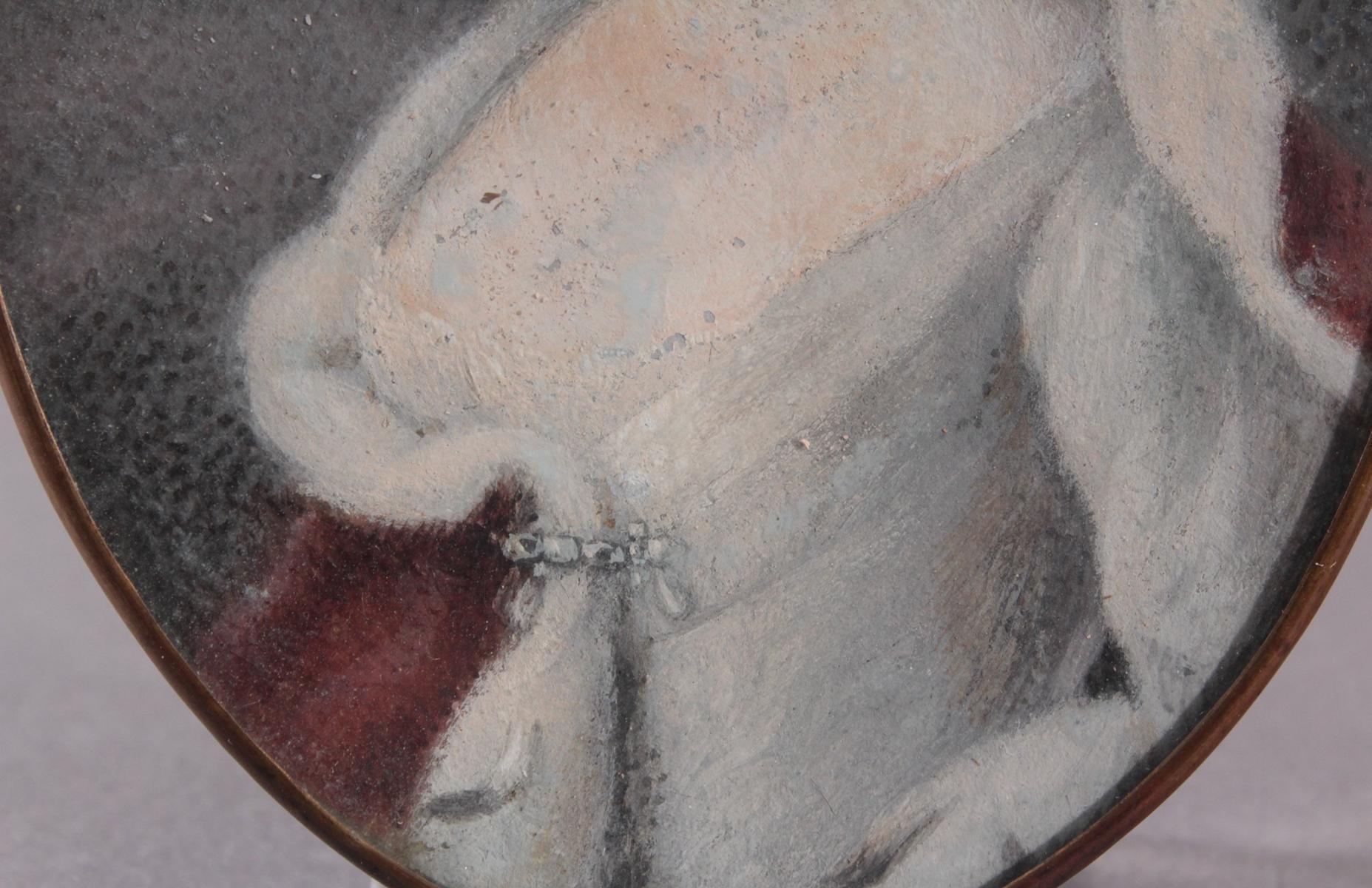 Die junge Karoline Henriette von Pfalz-Zweibrücken (1721 – 1774). Miniaturportrait-3