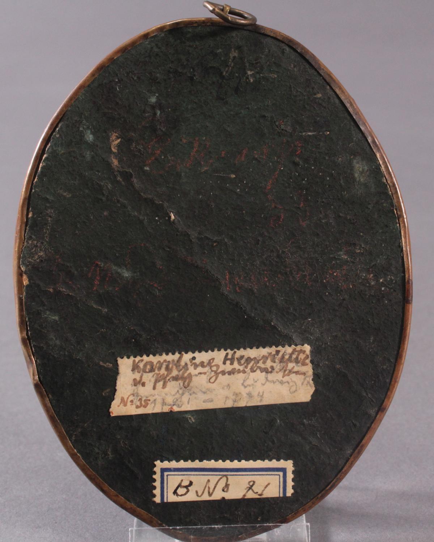 Die junge Karoline Henriette von Pfalz-Zweibrücken (1721 – 1774). Miniaturportrait-4