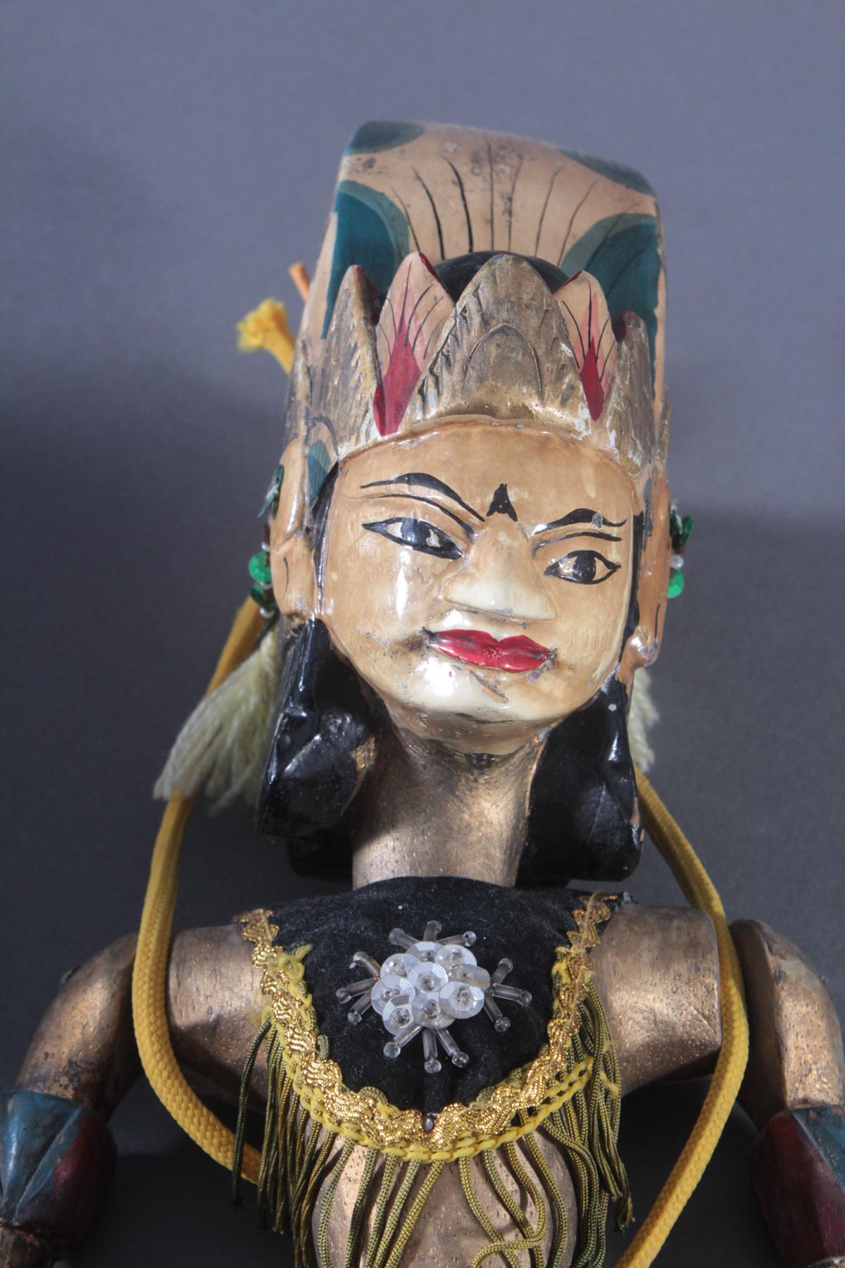 Paar indonesische Marionetten aus der 1. Hälfte des 19. Jh.-2