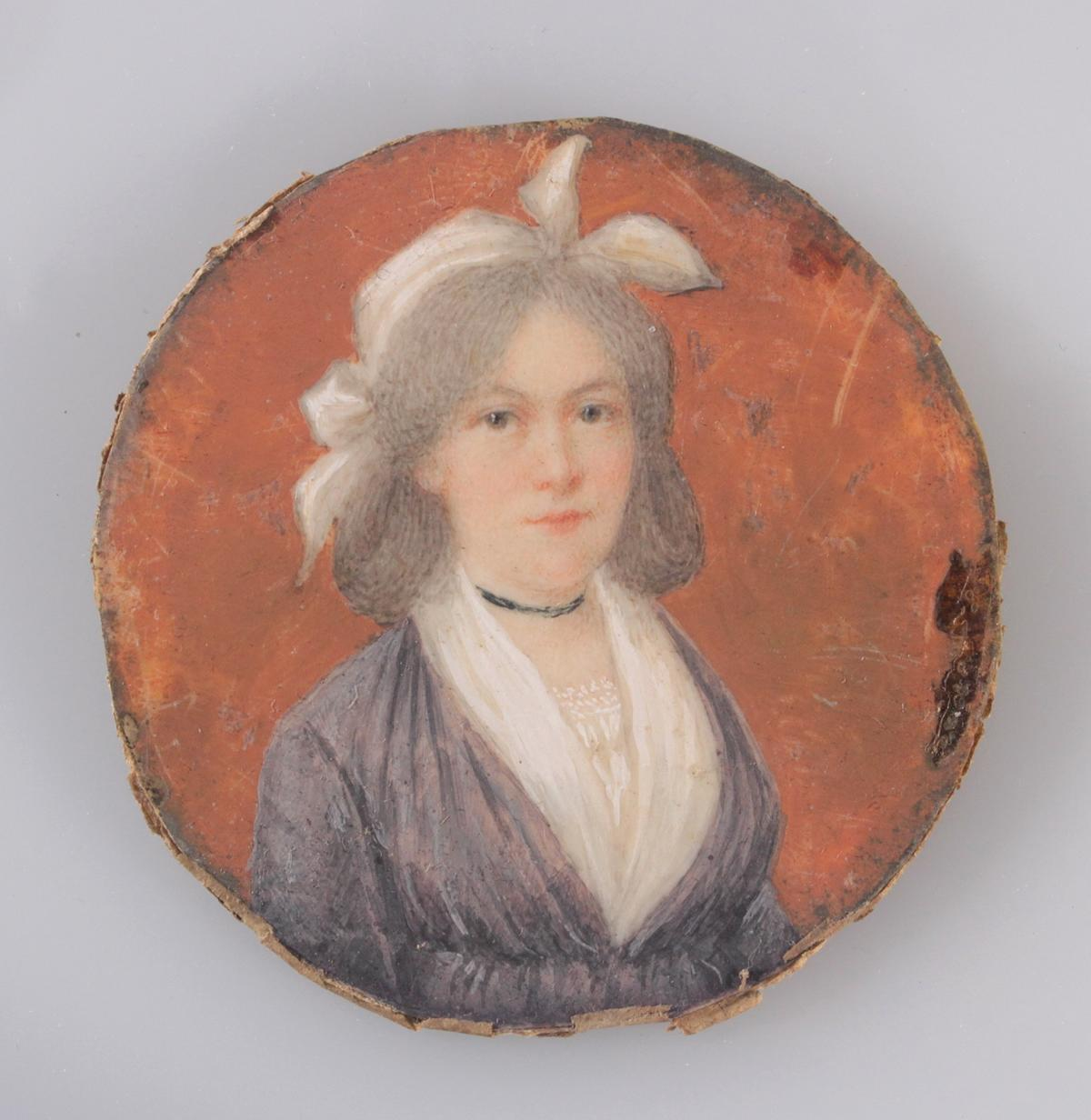 Biedermaier-Miniaturportrait, 1. Hälfte 19. Jh.-2