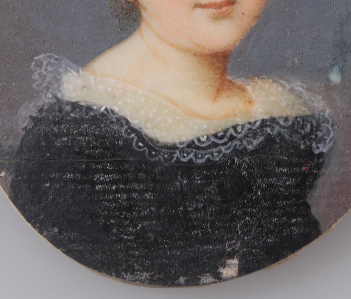 Miniaturportrait des 19. Jahrhunderts-4