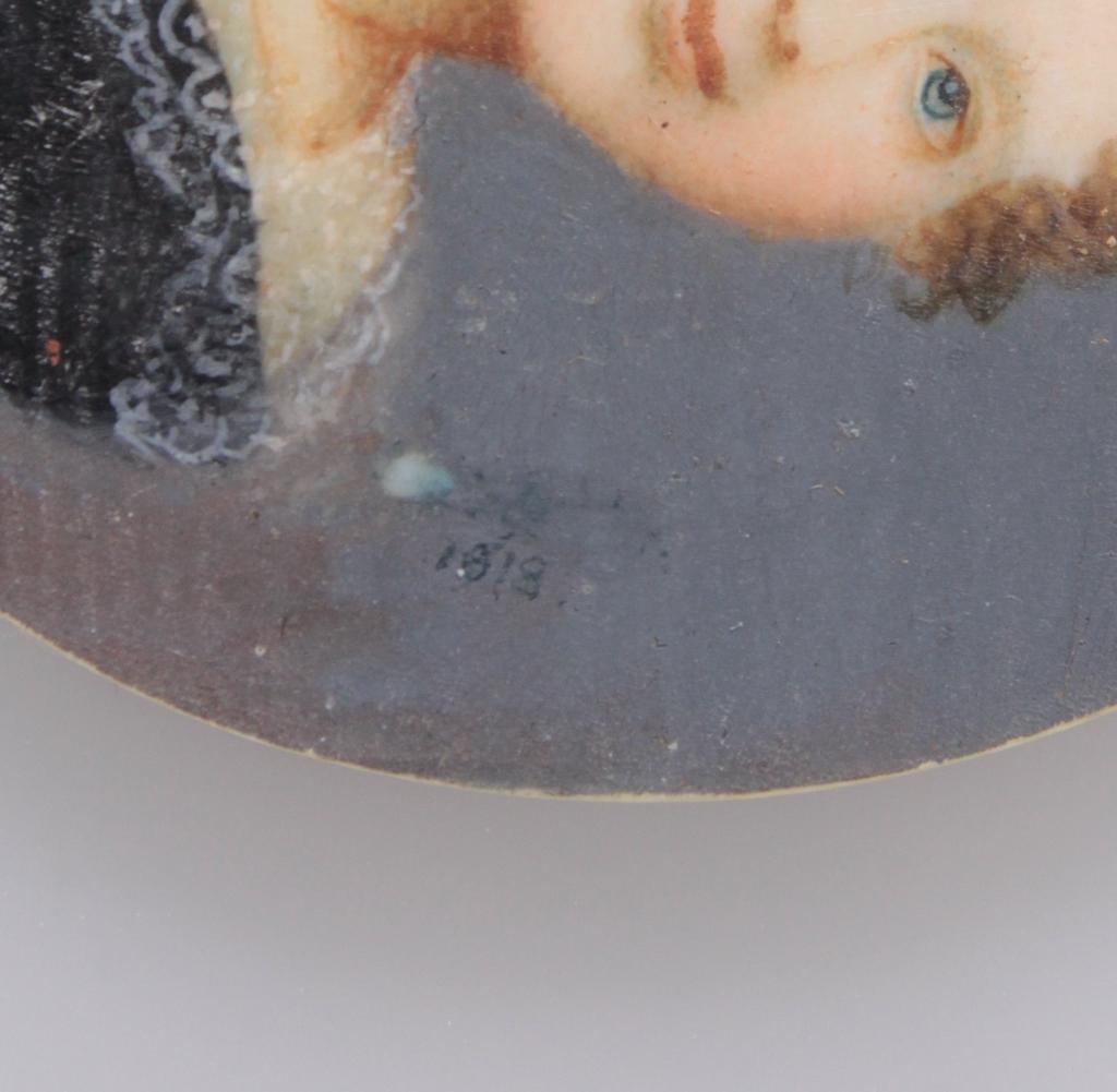 Miniaturportrait des 19. Jahrhunderts-5