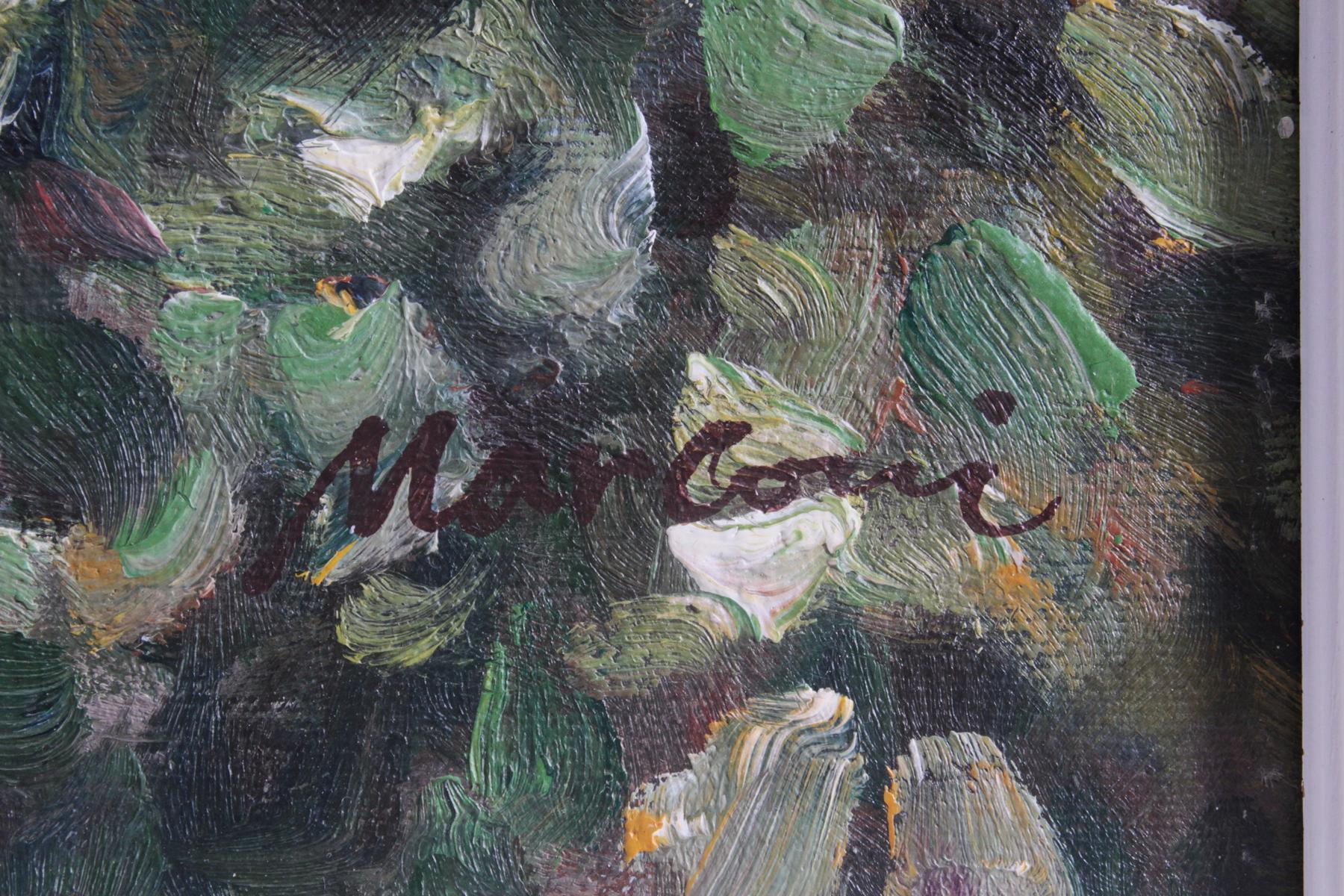 Otello Marconi (1907-1991). 'Blick auf die Terrasse'-3