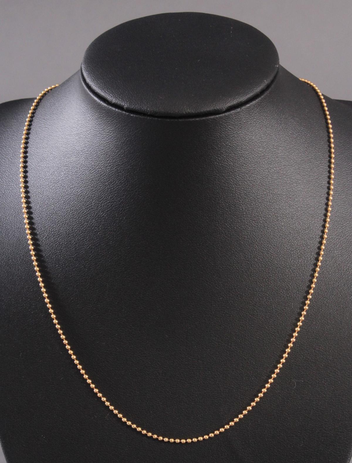 Halskette, 14 Karat Gelbgold