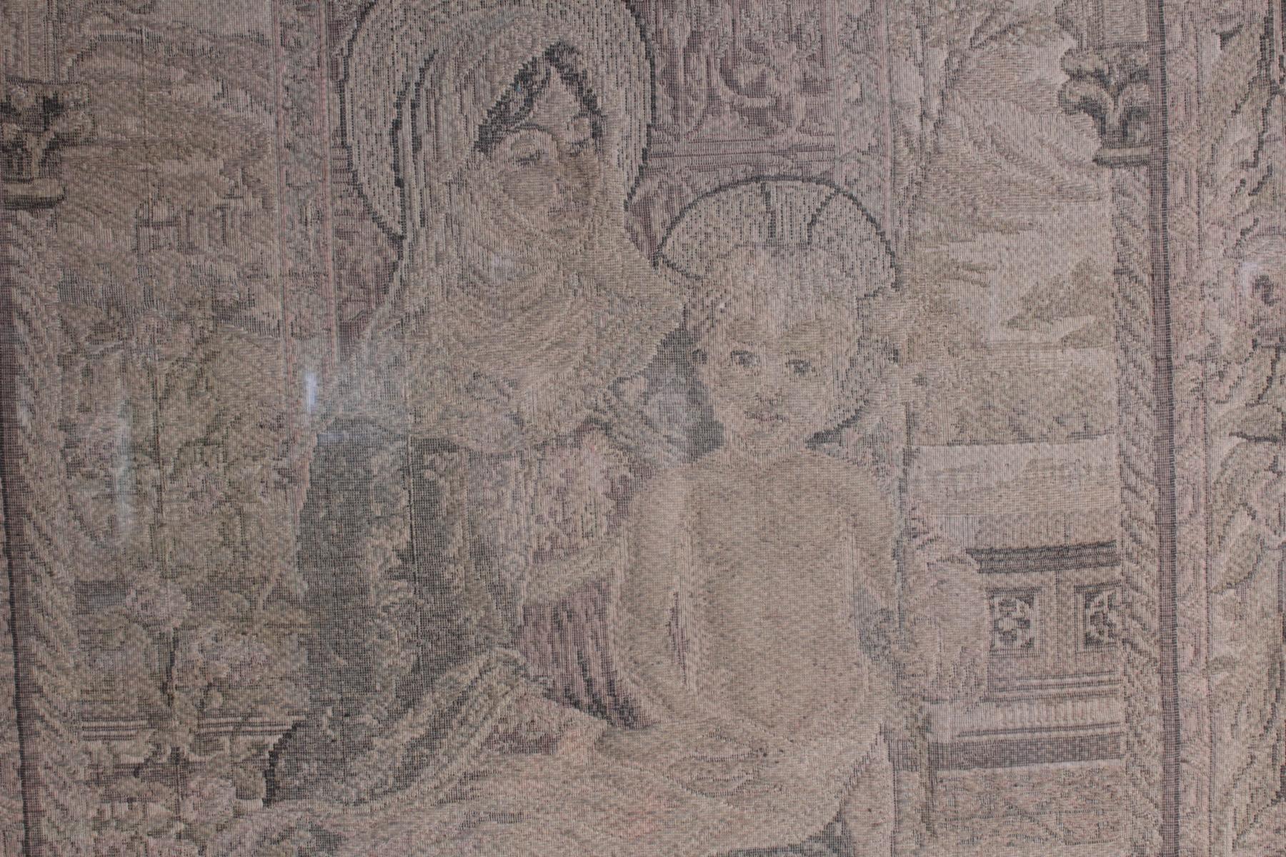 Religiöser Gobelin, 19. Jahrhundert-3