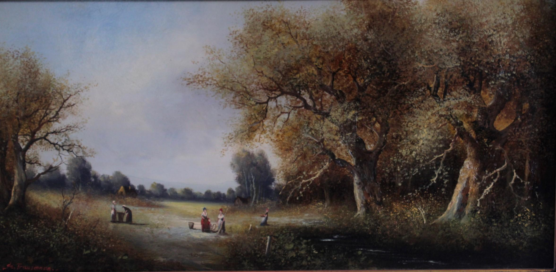 St. Trautmann. Maler 2. Hälfte 20. Jahrhundert-2