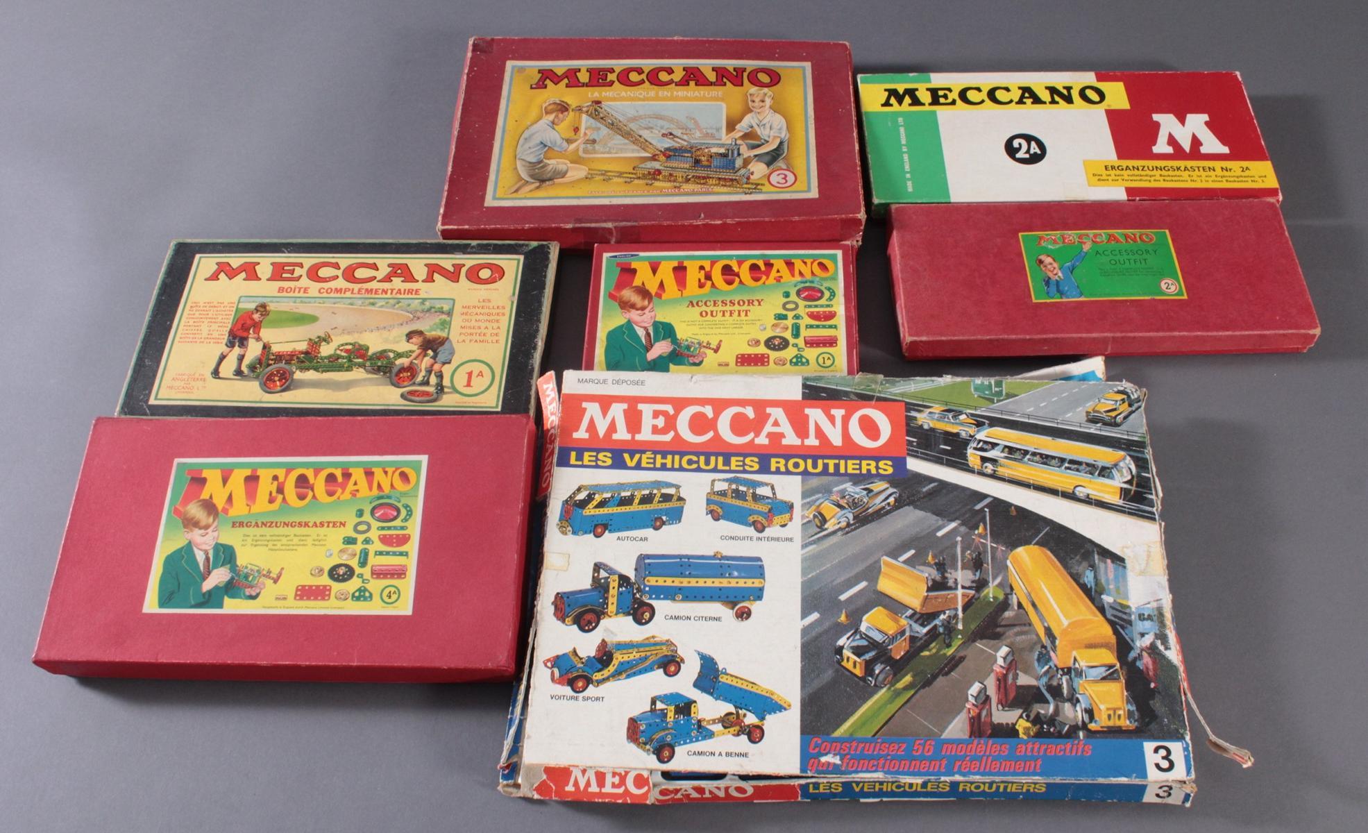 MECCANO Metallbaukästen