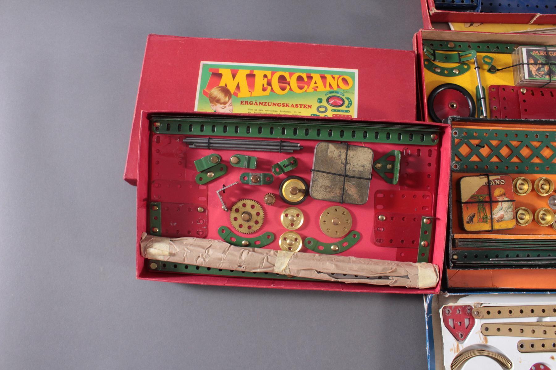MECCANO Metallbaukästen-6