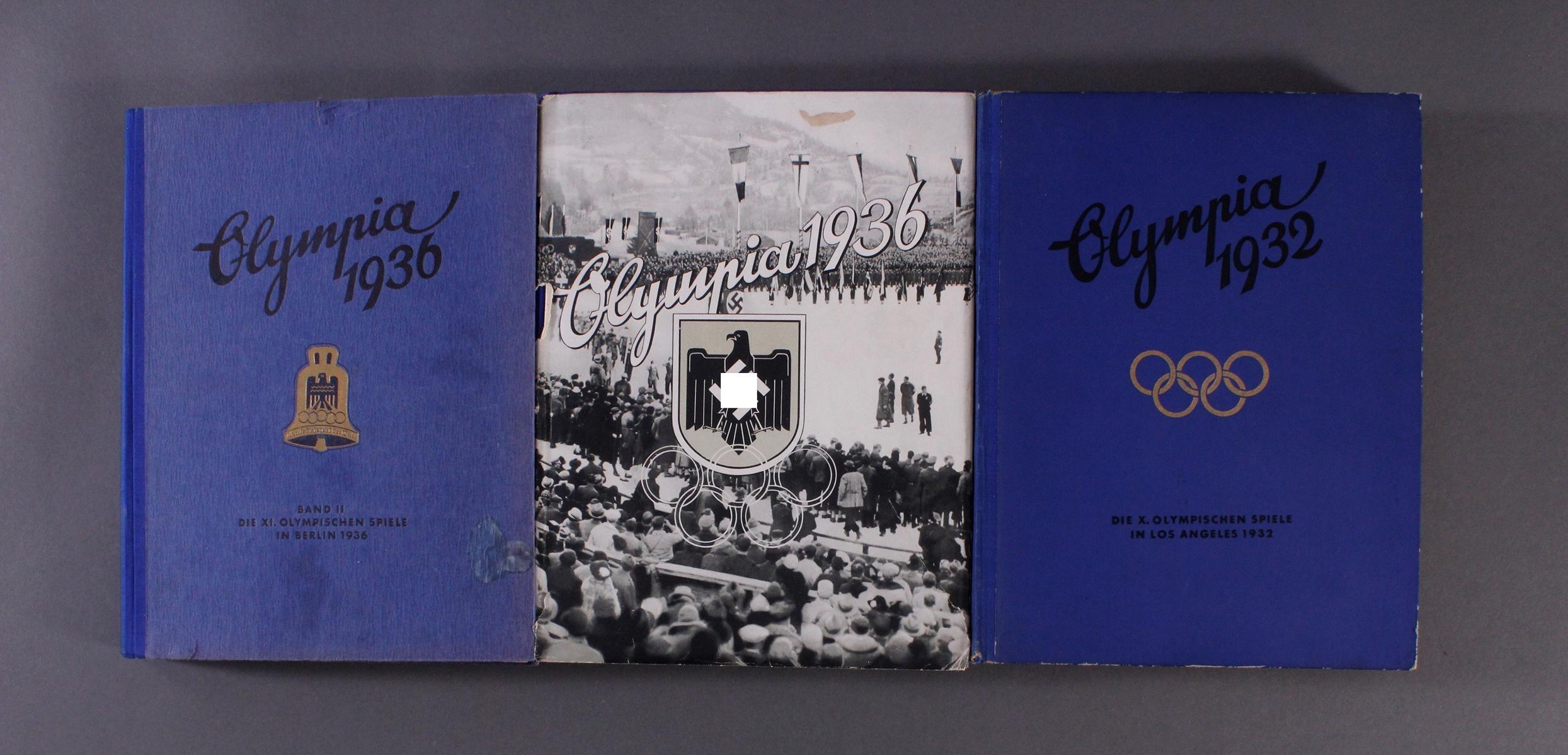 Sammelbilderalben Olympiade 1932 und 1936
