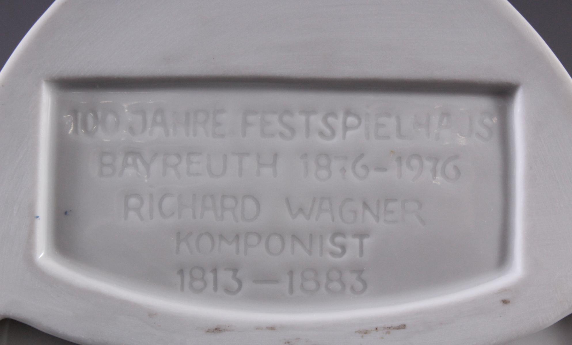 4 Porzellanplaketten 'Wagner', Höchst-4