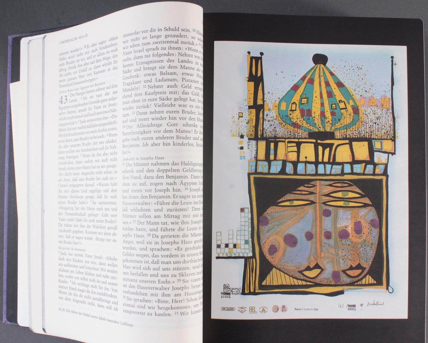 Friedensreich Hundertwasser – Bibel-2