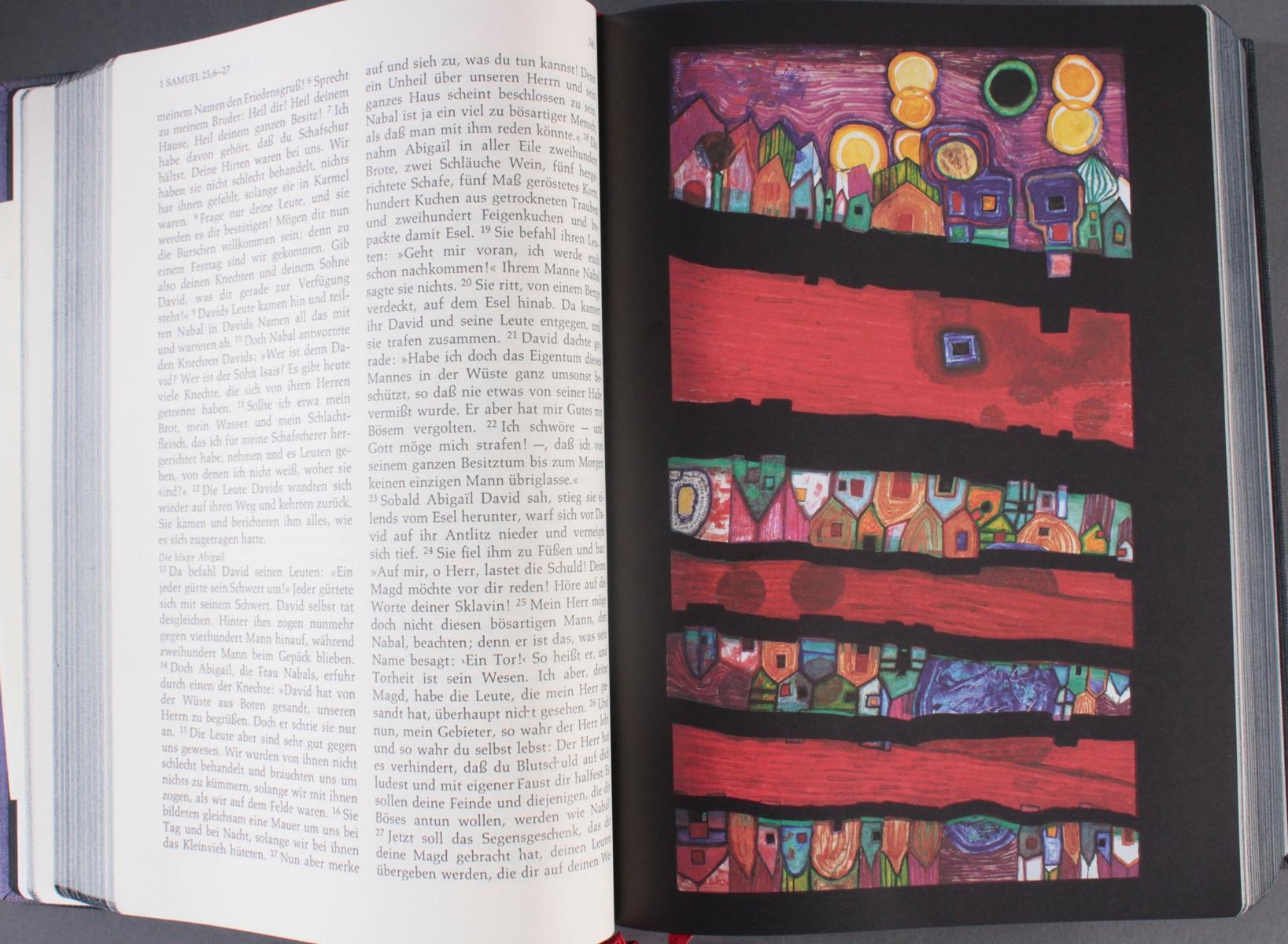 Friedensreich Hundertwasser – Bibel-3