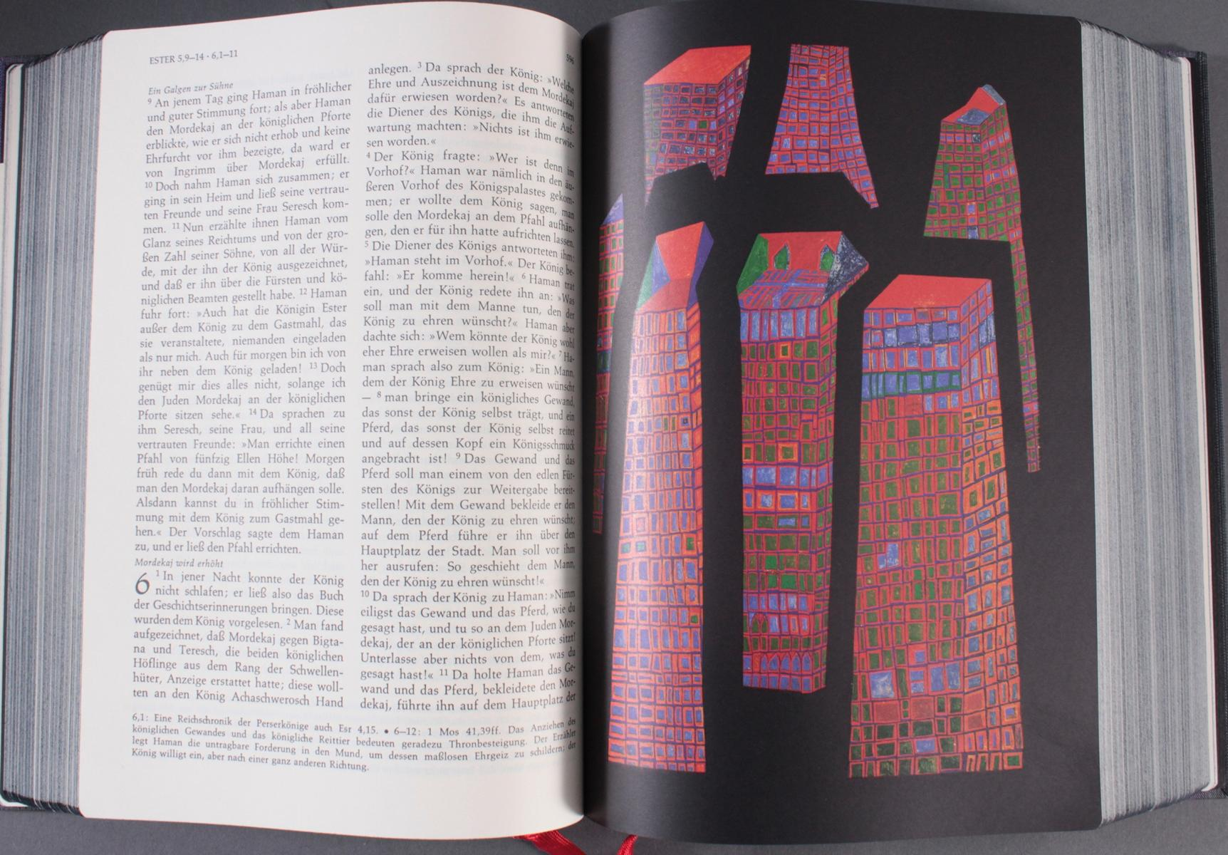Friedensreich Hundertwasser – Bibel-4