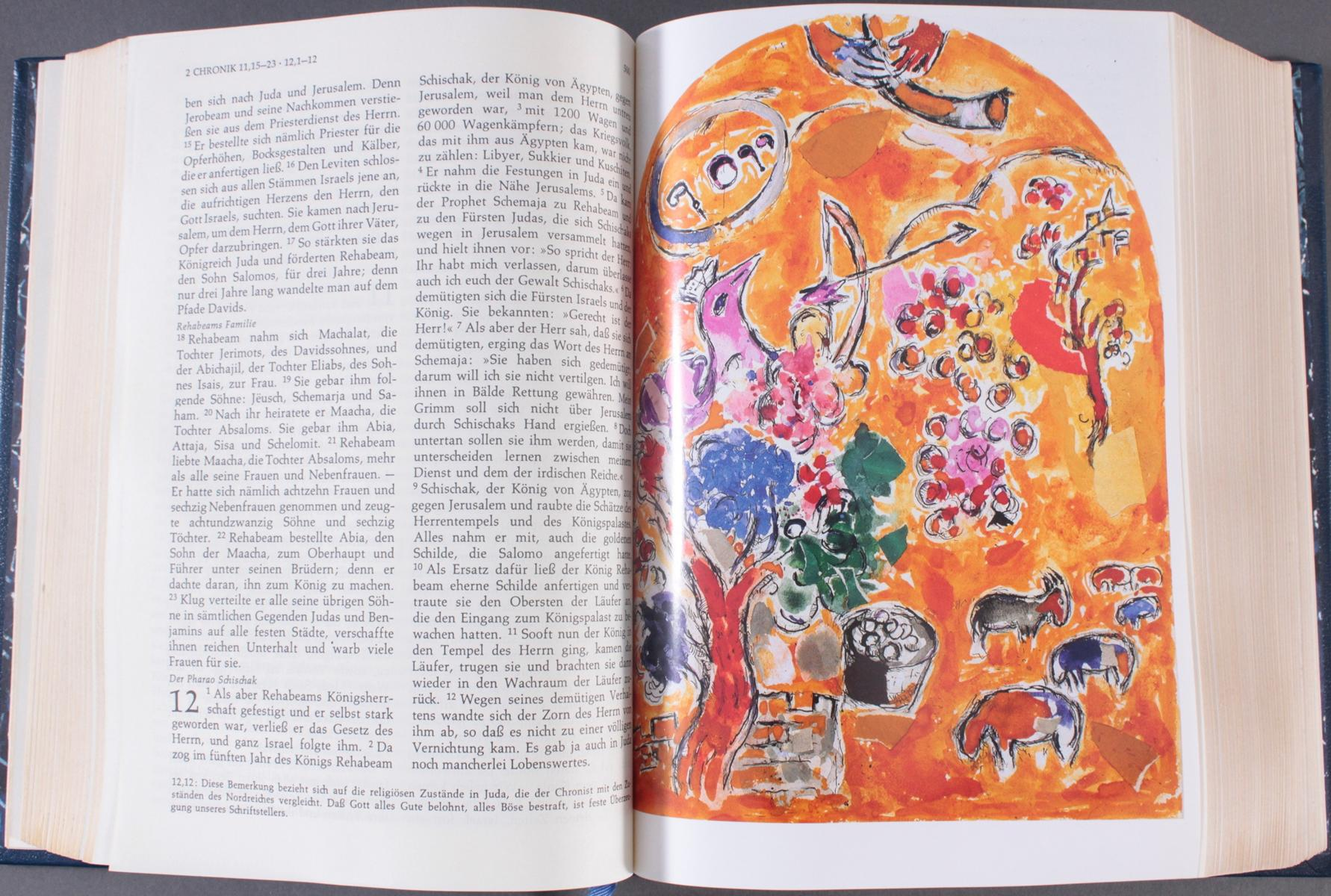 Marc Chagall – Die Bibel-4