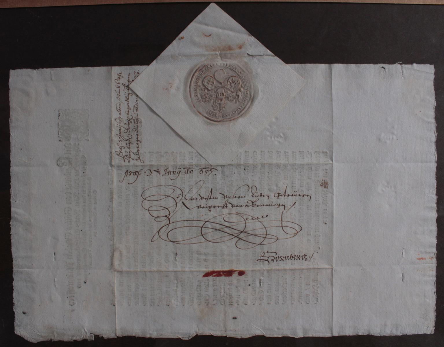 Samlung Altbriefe, Vorphilatelie, Meisterbrief und Dokumente-2