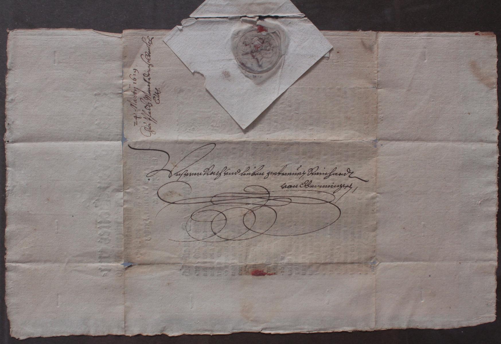 Samlung Altbriefe, Vorphilatelie, Meisterbrief und Dokumente-8