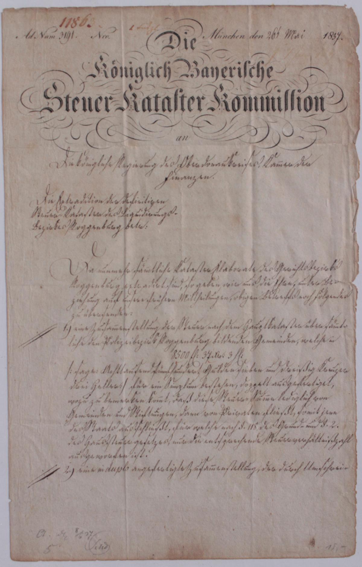 Samlung Altbriefe, Vorphilatelie, Meisterbrief und Dokumente-11