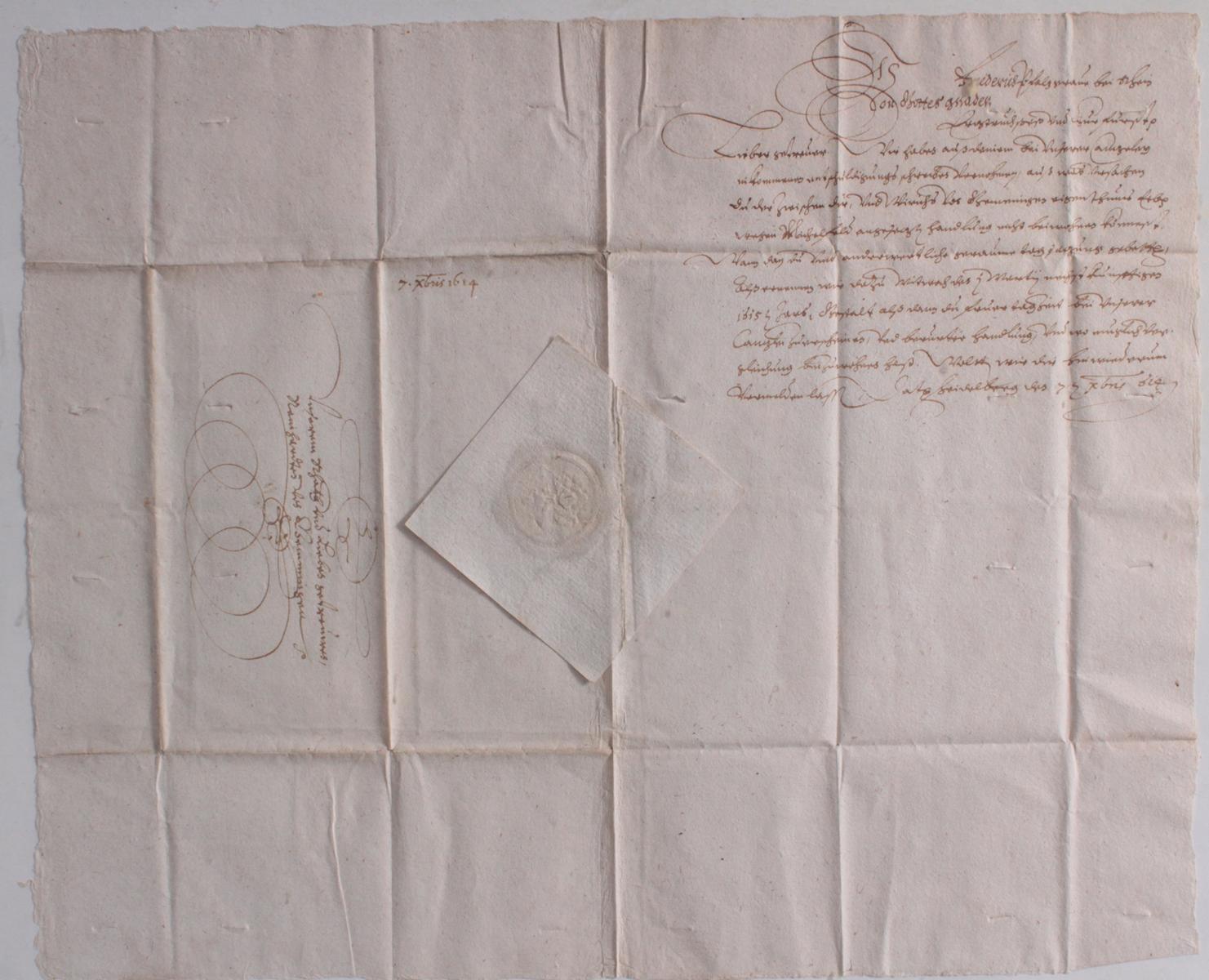 Samlung Altbriefe, Vorphilatelie, Meisterbrief und Dokumente-13