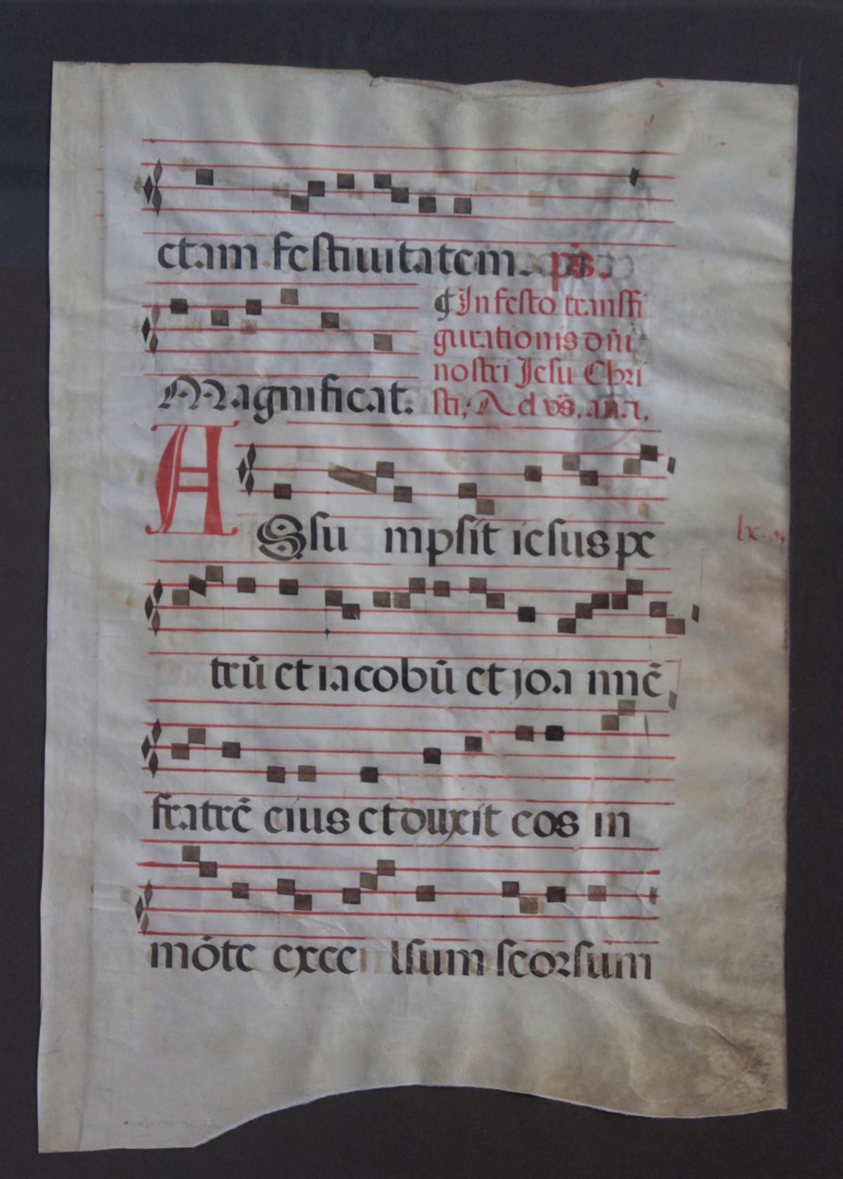 2 lateinische Handschriften auf Pergament wohl aus dem 15. Jh.-2