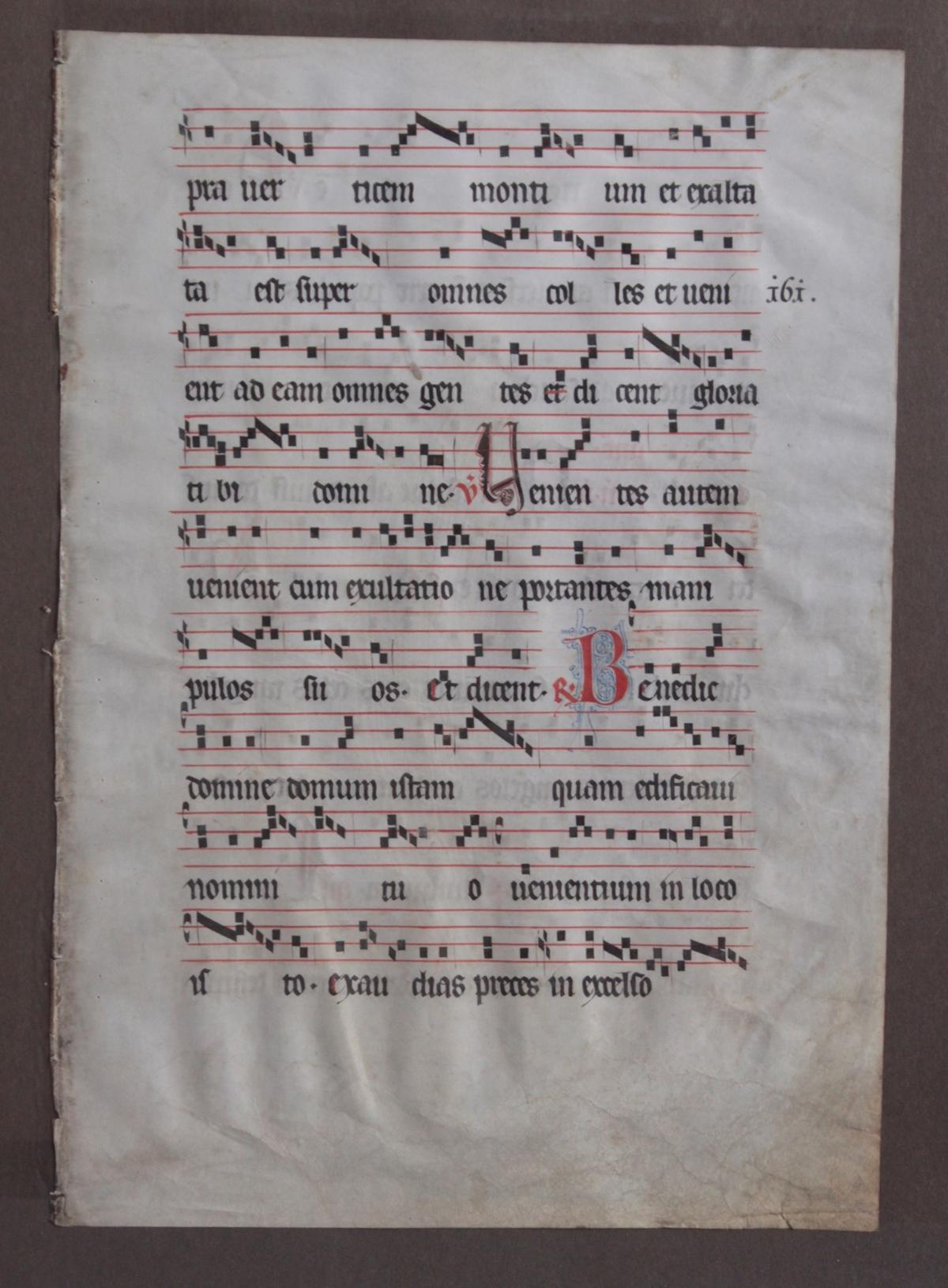 2 lateinische Handschriften auf Pergament wohl aus dem 15. Jh.-3
