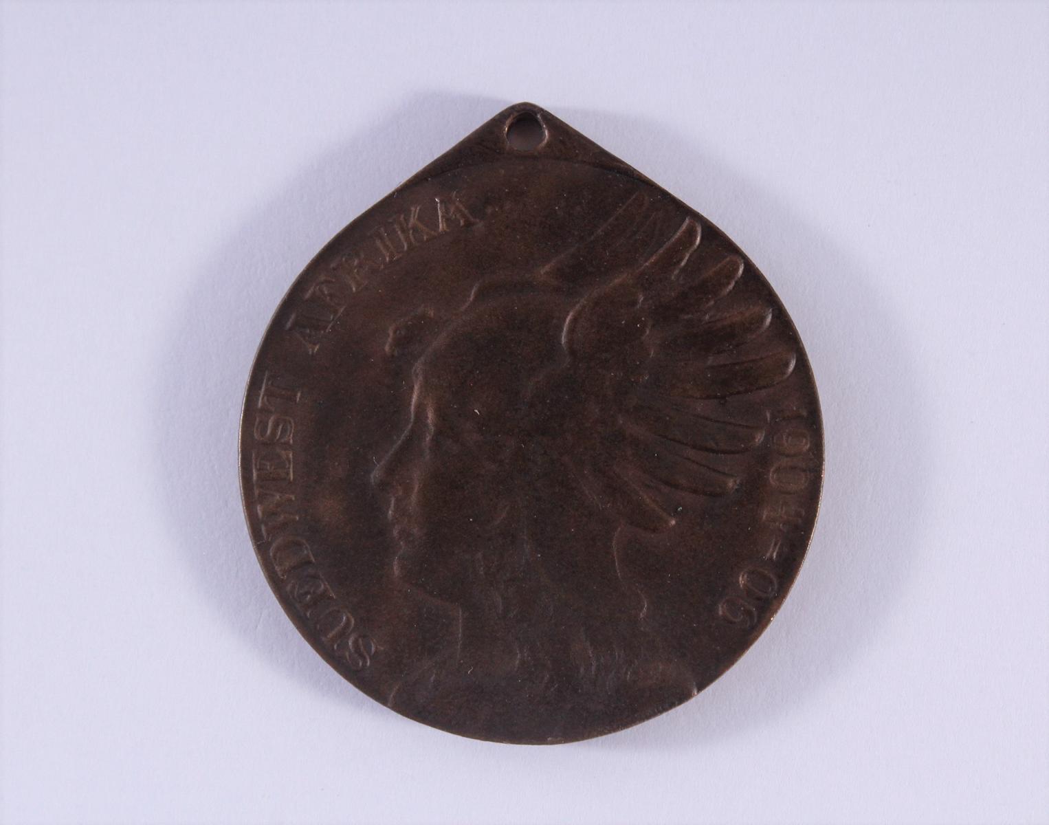 Medaille, Preußen, Deutsch-Südwestafrika 1904-1906