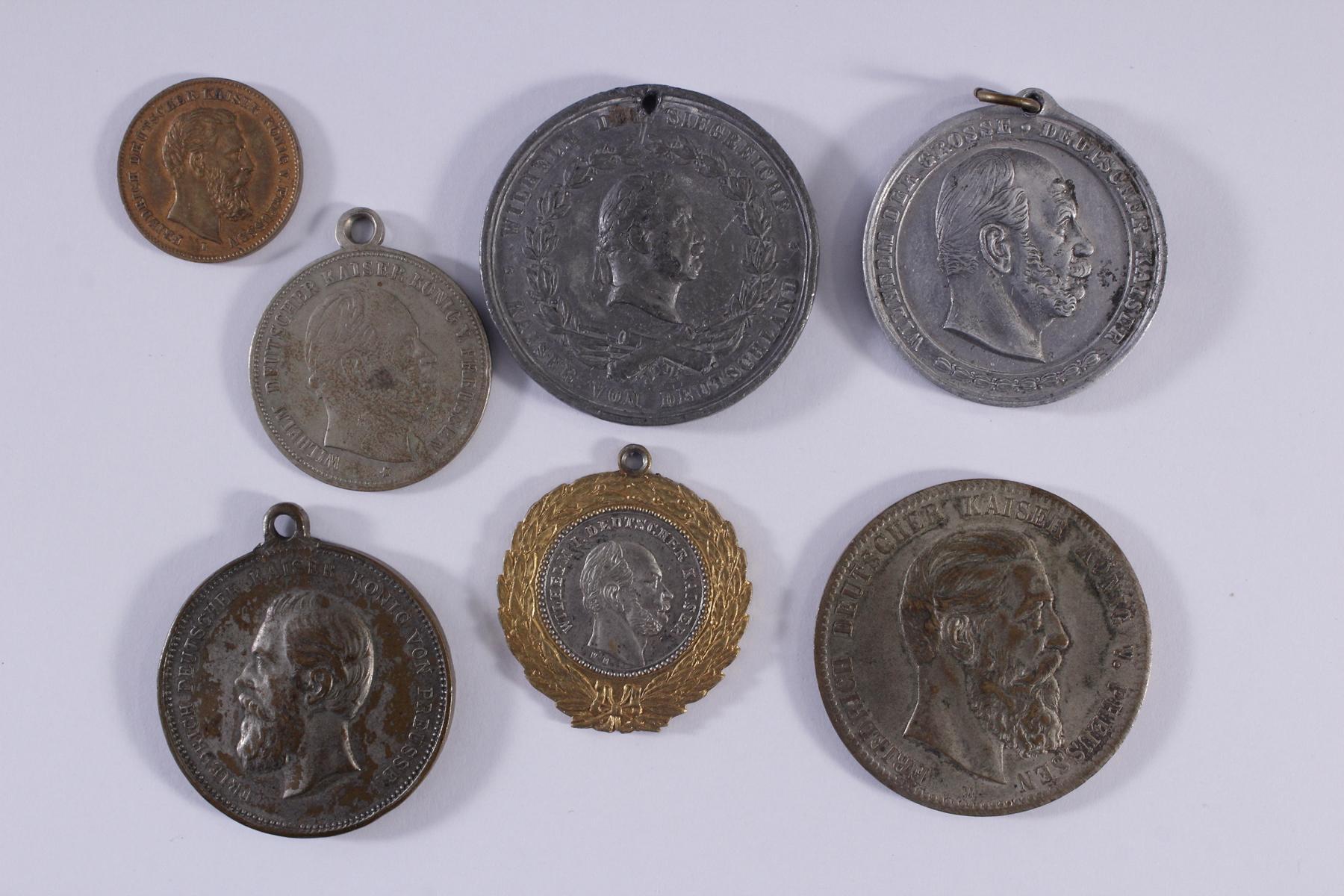 Kleine Sammlung Medaillen