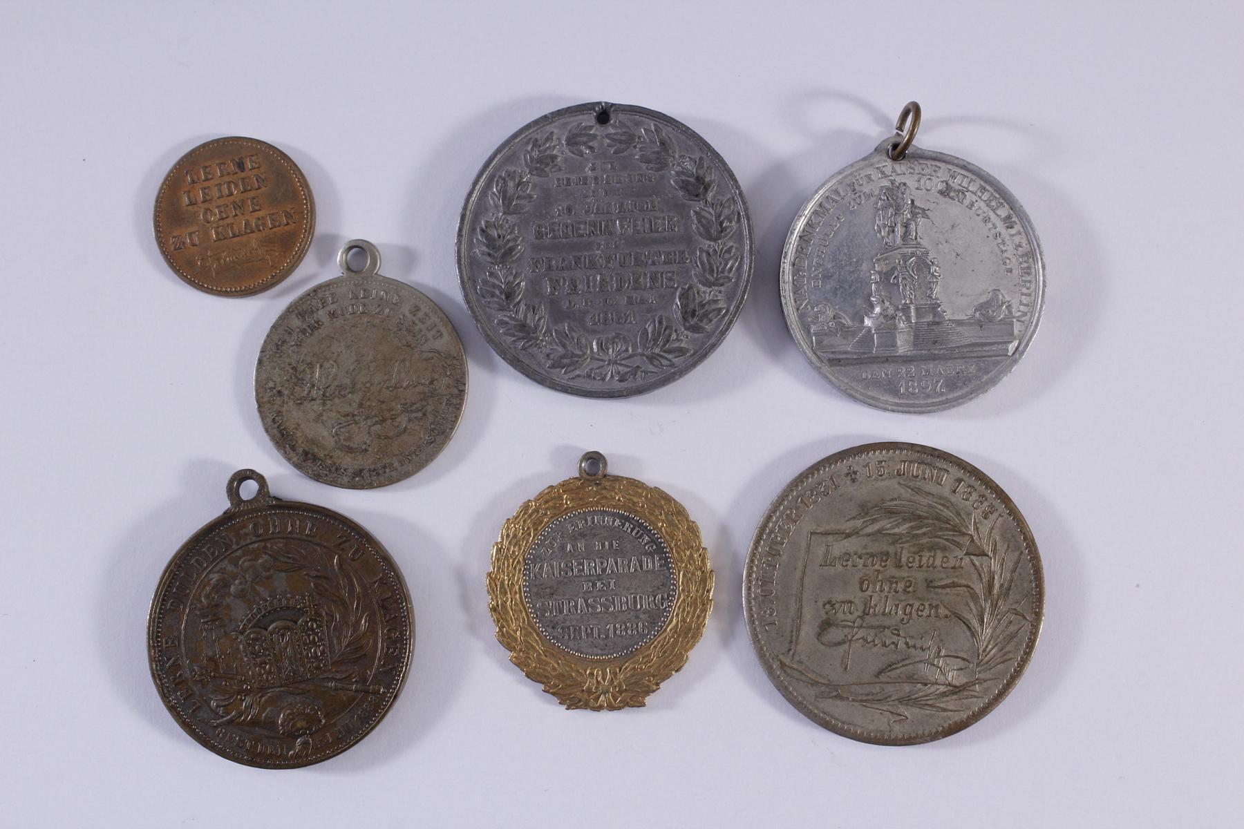 Kleine Sammlung Medaillen-2