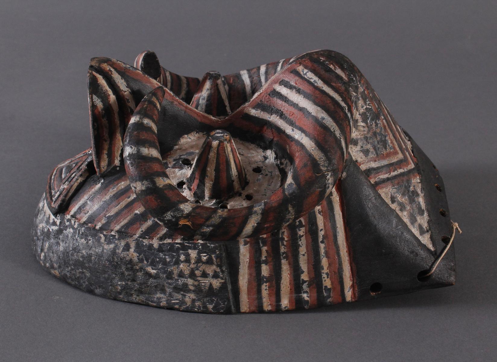Antike Maske der Kuba-Ngeende, Kongo-3