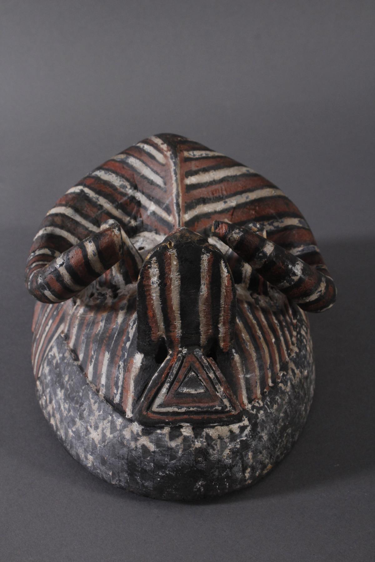 Antike Maske der Kuba-Ngeende, Kongo-4