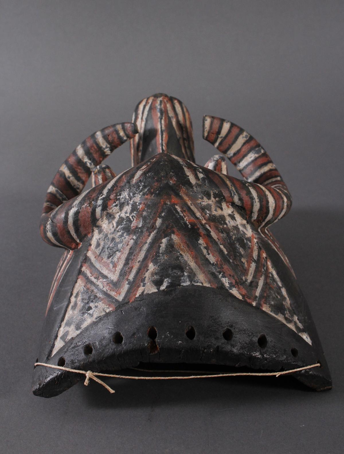 Antike Maske der Kuba-Ngeende, Kongo-5