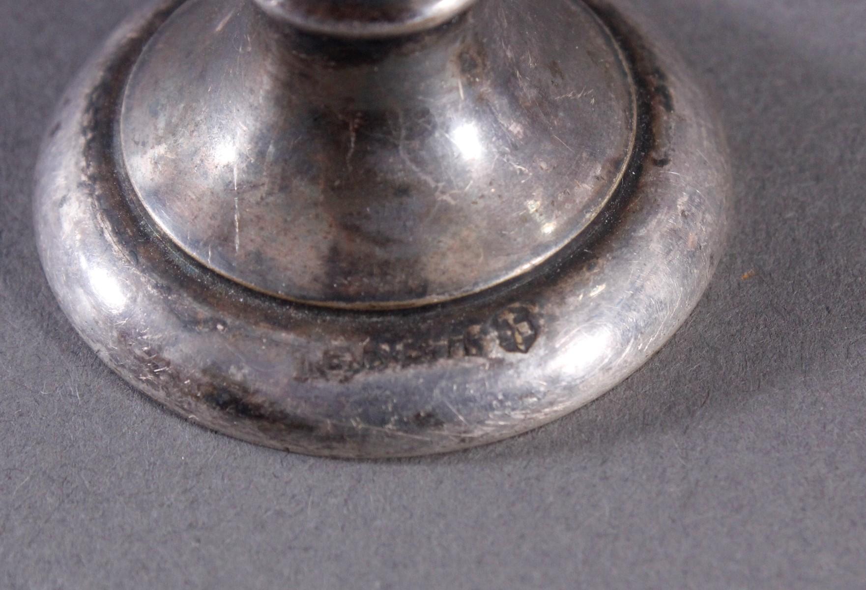 2 antike Becher und ein Zinnbecher-4