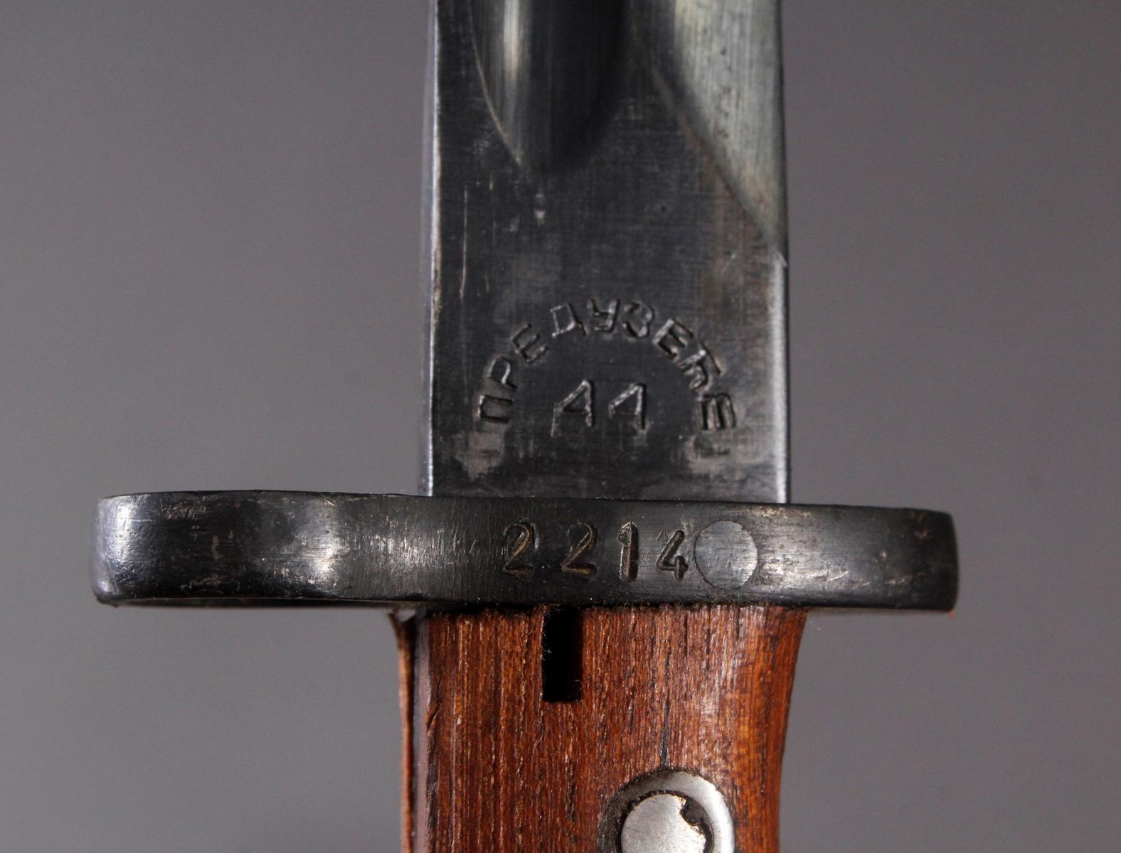 Polnisch-russischer Mauser – Bajonett 98K-3
