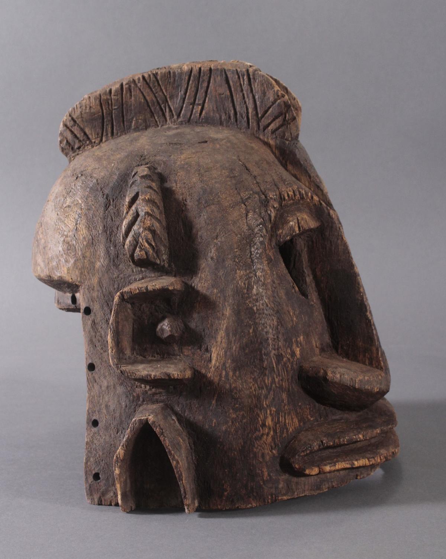 Antike Helmmaske der Dogon, Mali, 1. Hälfte 20. Jh.-2